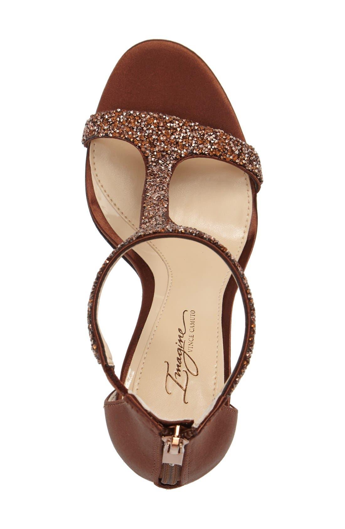 'Phoebe' Embellished T-Strap Sandal,                             Alternate thumbnail 69, color,