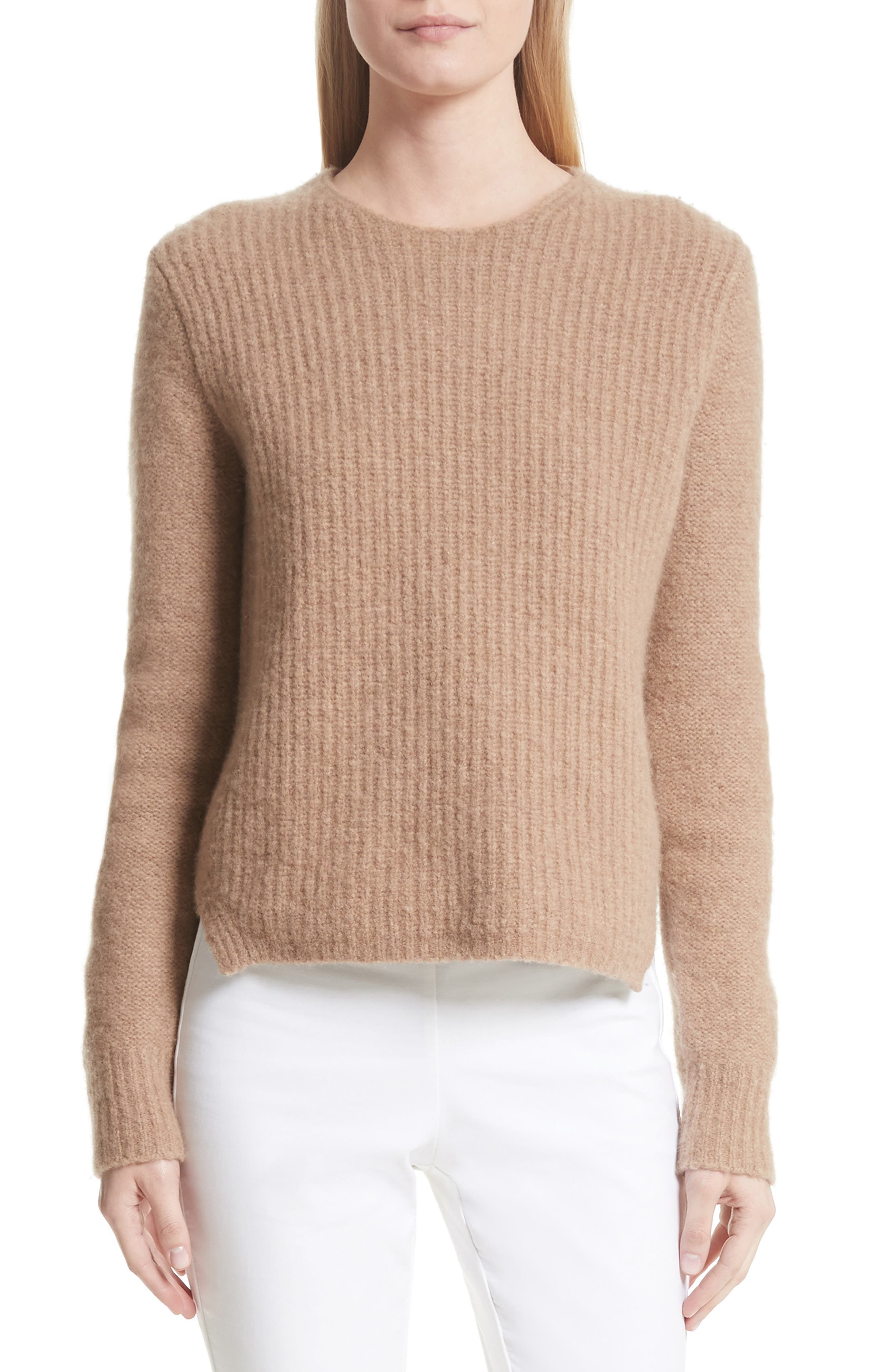 Francie Merino Wool Blend Sweater,                             Main thumbnail 1, color,                             230