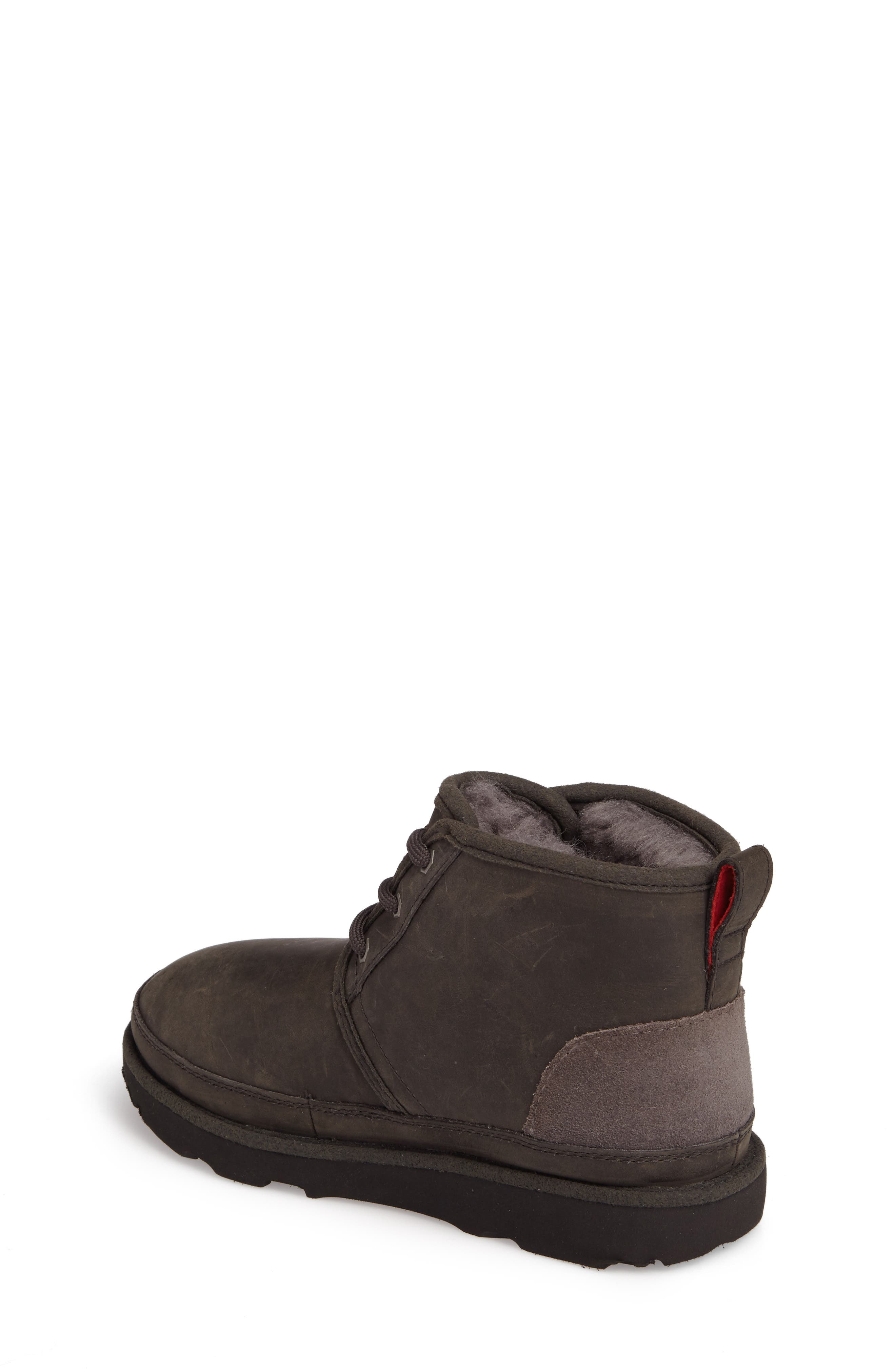 Neumel II Waterproof Chukka,                             Alternate thumbnail 2, color,                             CHARCOAL