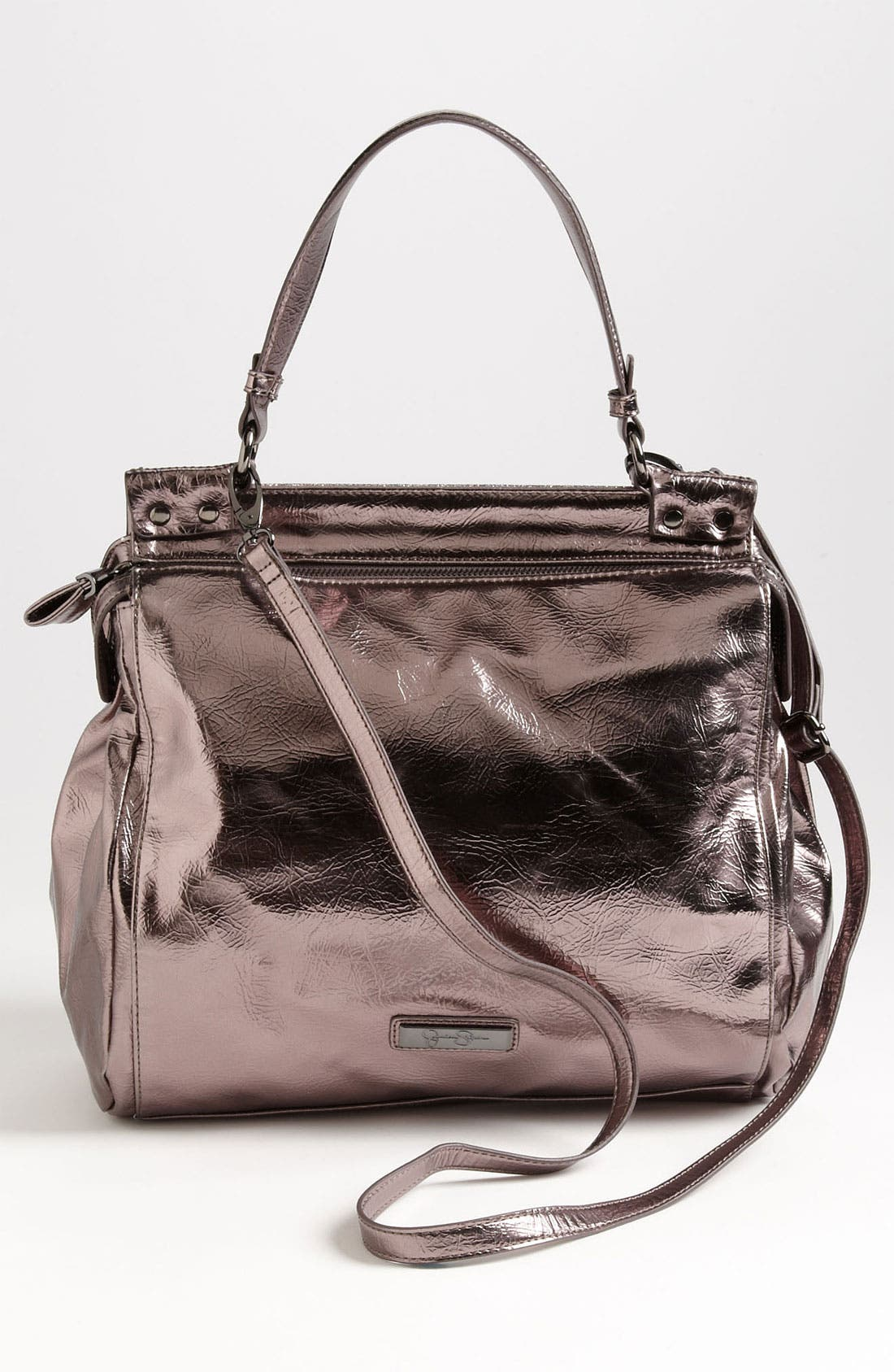 'Natalie' Satchel,                             Alternate thumbnail 4, color,                             040