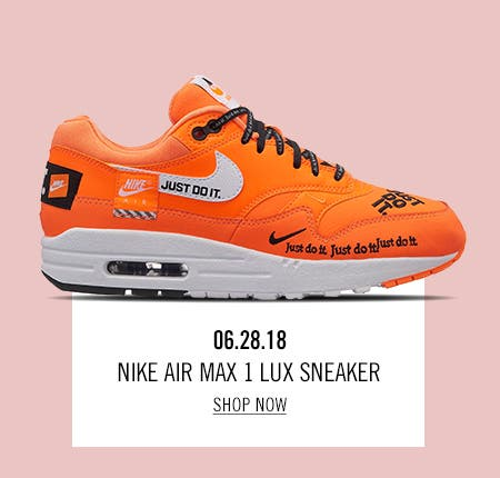 Nordstrom x Nike: new and hot Nordstrom x Nike Air Max 1 Lux Sneaker.