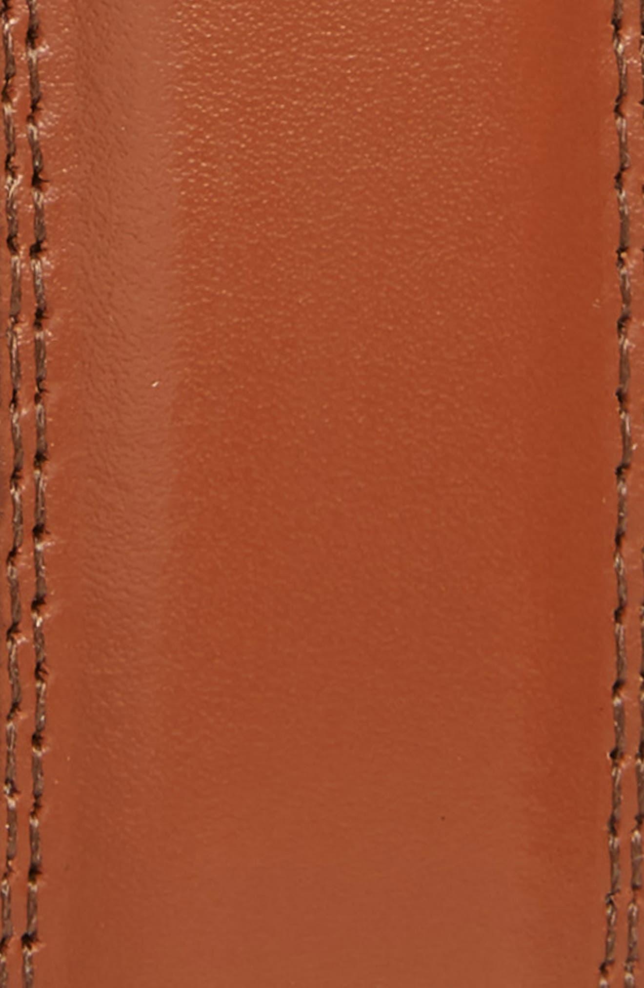 Aniline Leather Belt,                             Alternate thumbnail 2, color,                             TAN