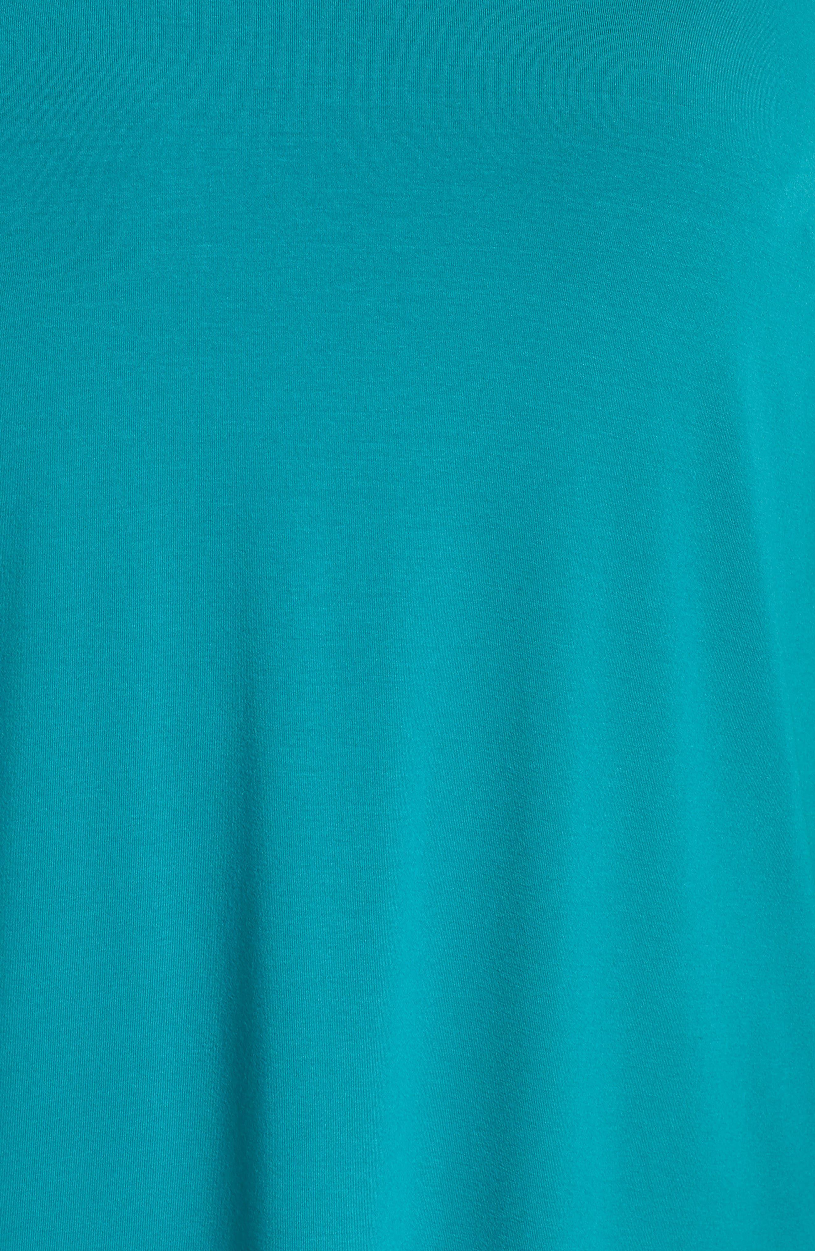 V-Neck Stretch Jersey Shift Dress,                             Alternate thumbnail 25, color,