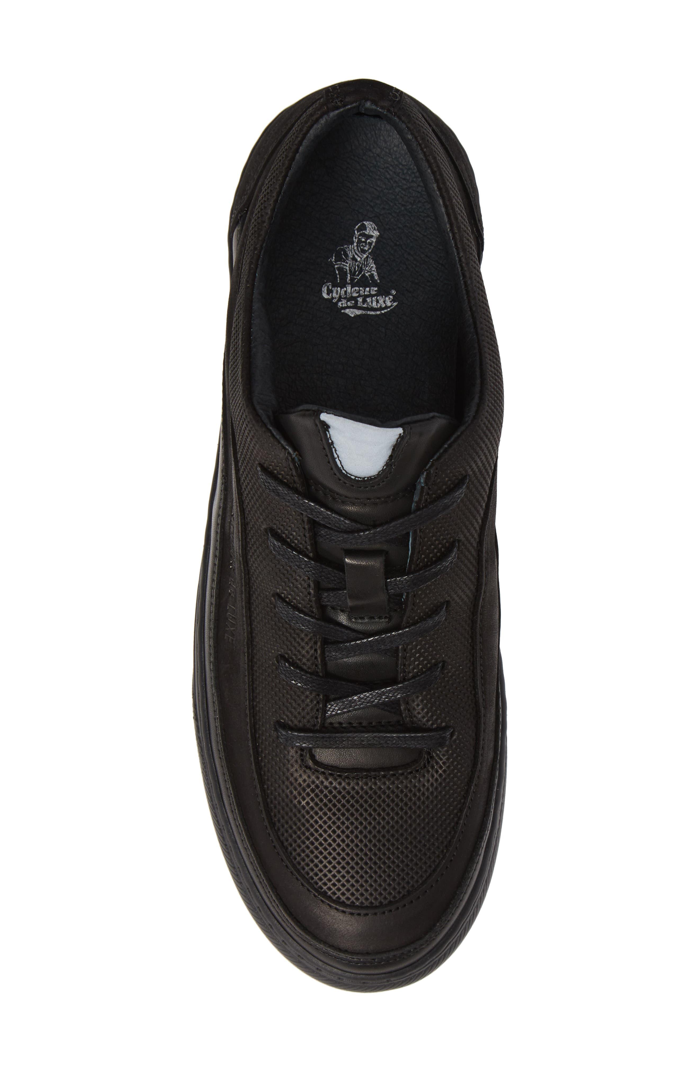 Bullet Sneaker,                             Alternate thumbnail 5, color,                             BLACK