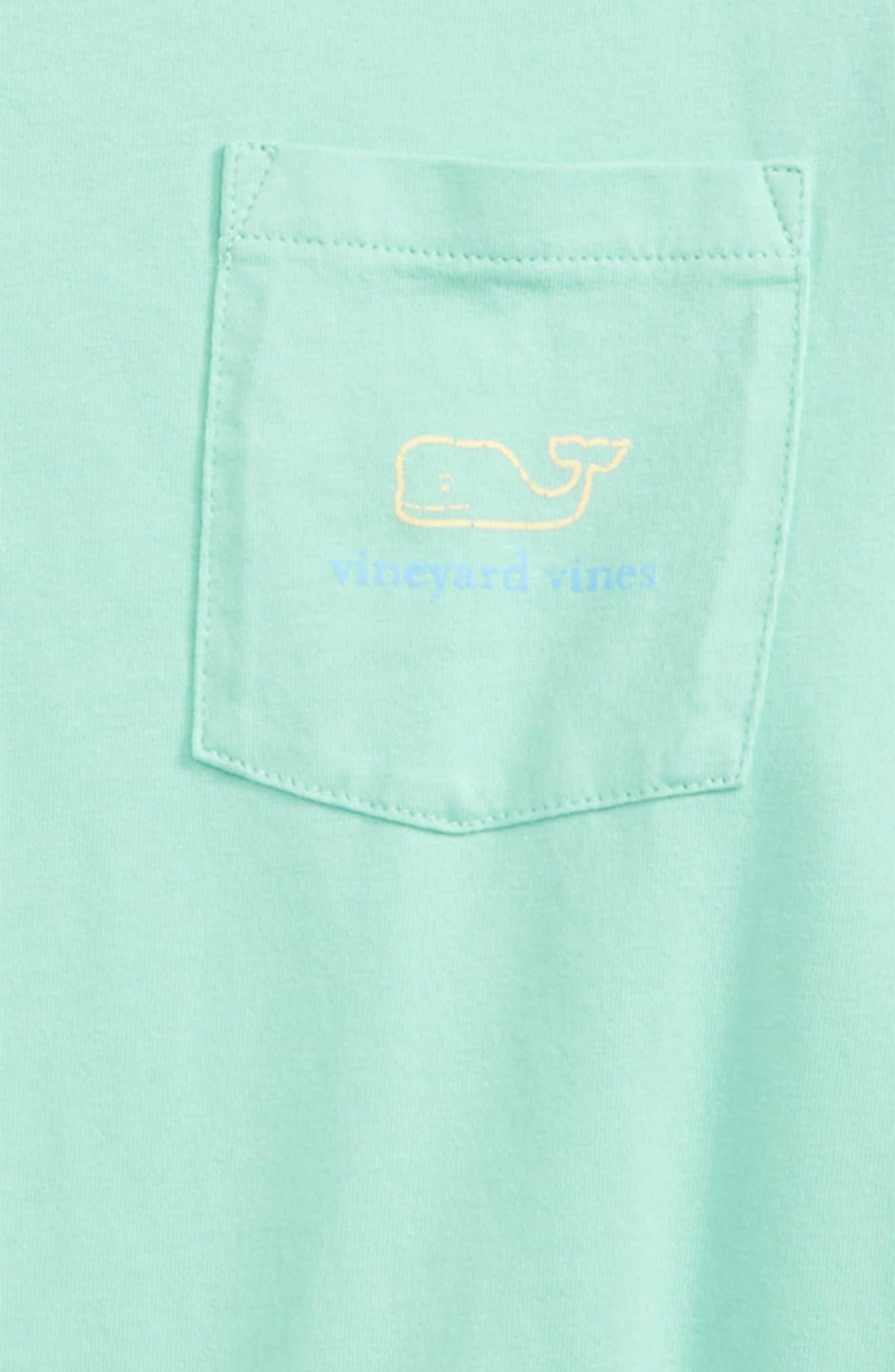 Vintage Whale Long Sleeve Pocket T-Shirt,                             Alternate thumbnail 15, color,