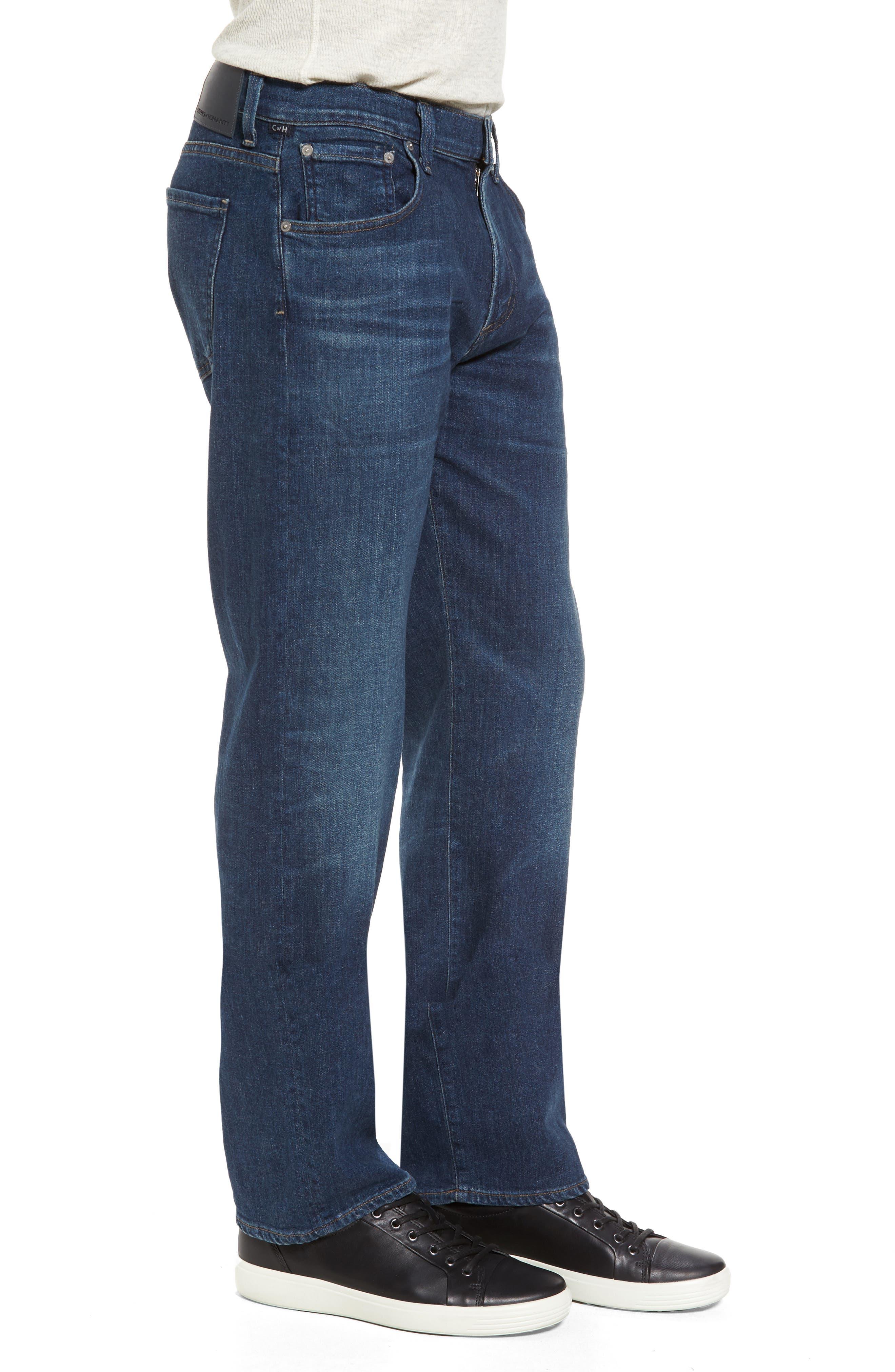Sid Straight Leg Jeans,                             Alternate thumbnail 3, color,                             401