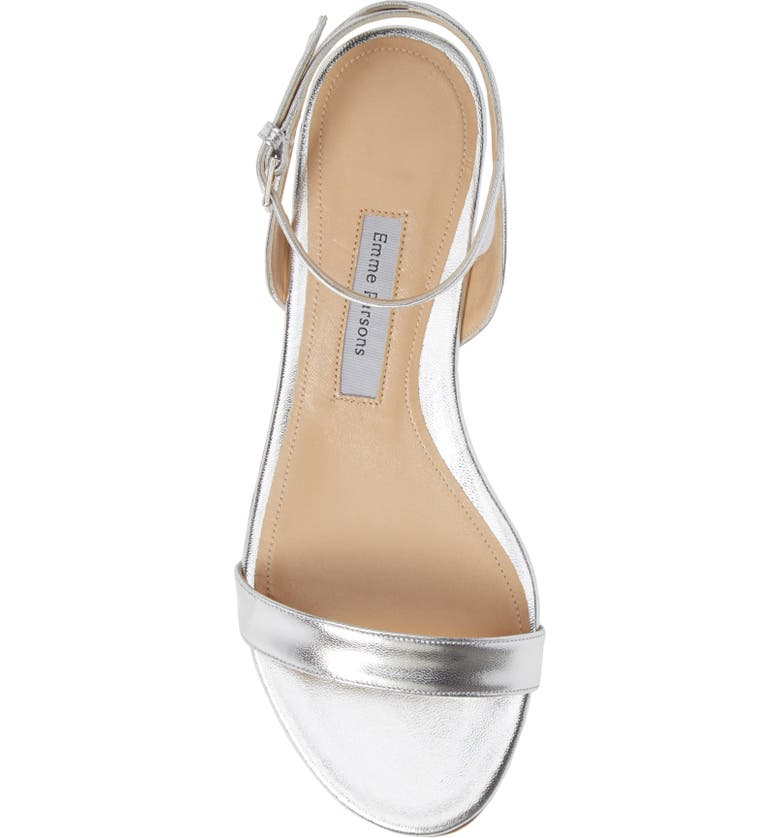 809d1a108fb9 Emme Parsons One Flat Sandal In Silver