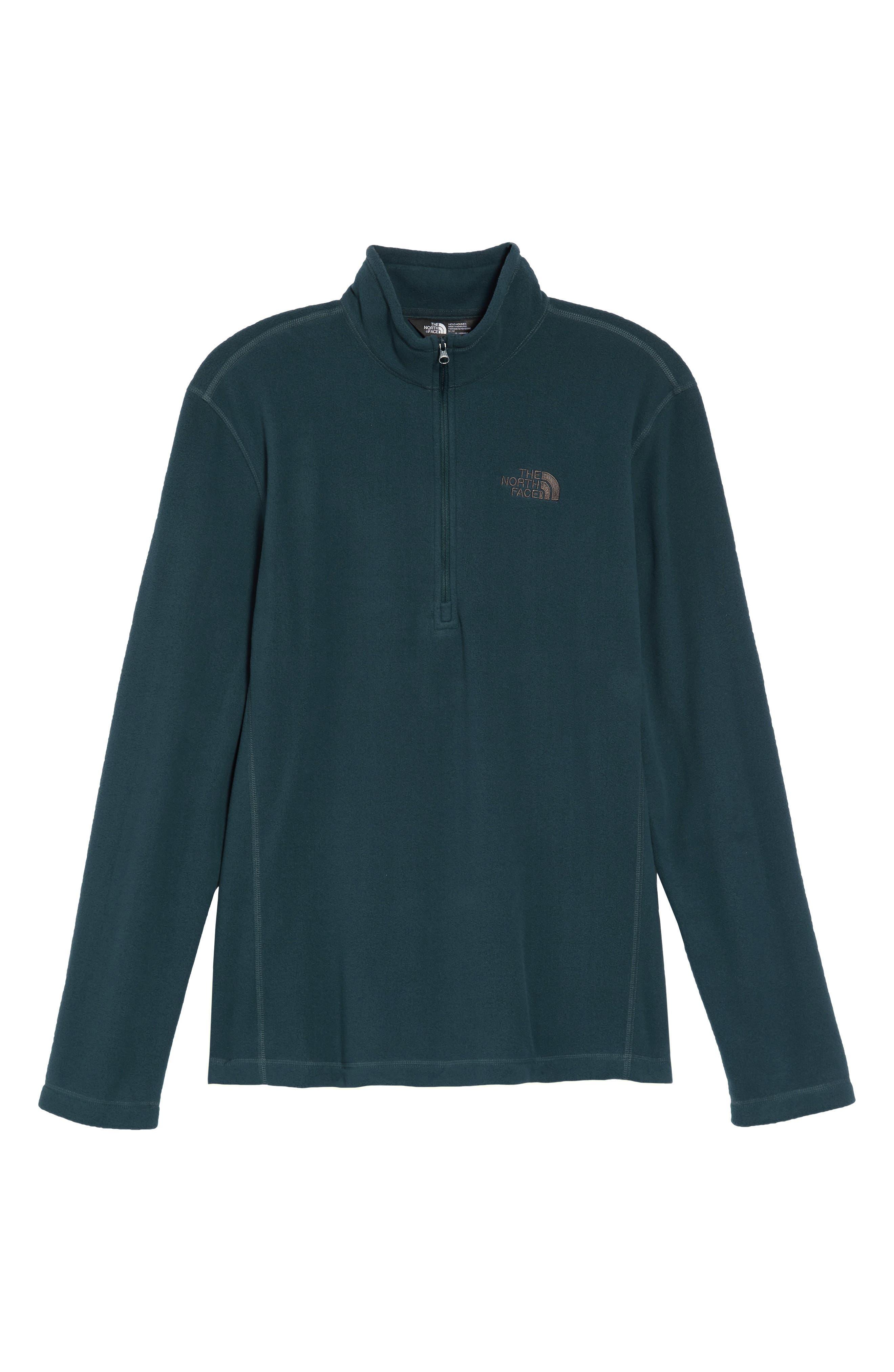 'TKA 100 Glacier' Quarter Zip Fleece Pullover,                             Alternate thumbnail 195, color,