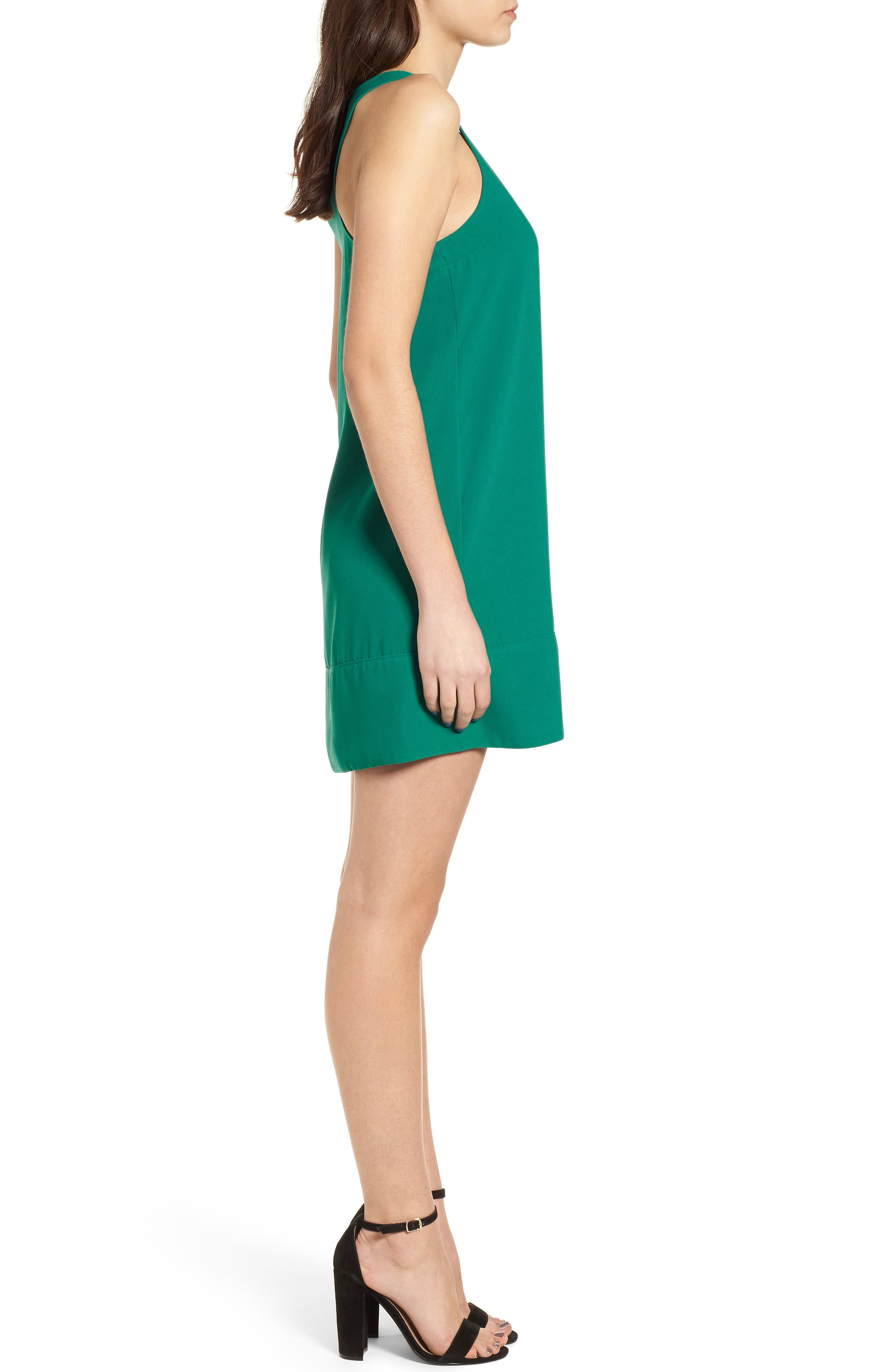Racerback Shift Dress,                             Alternate thumbnail 126, color,