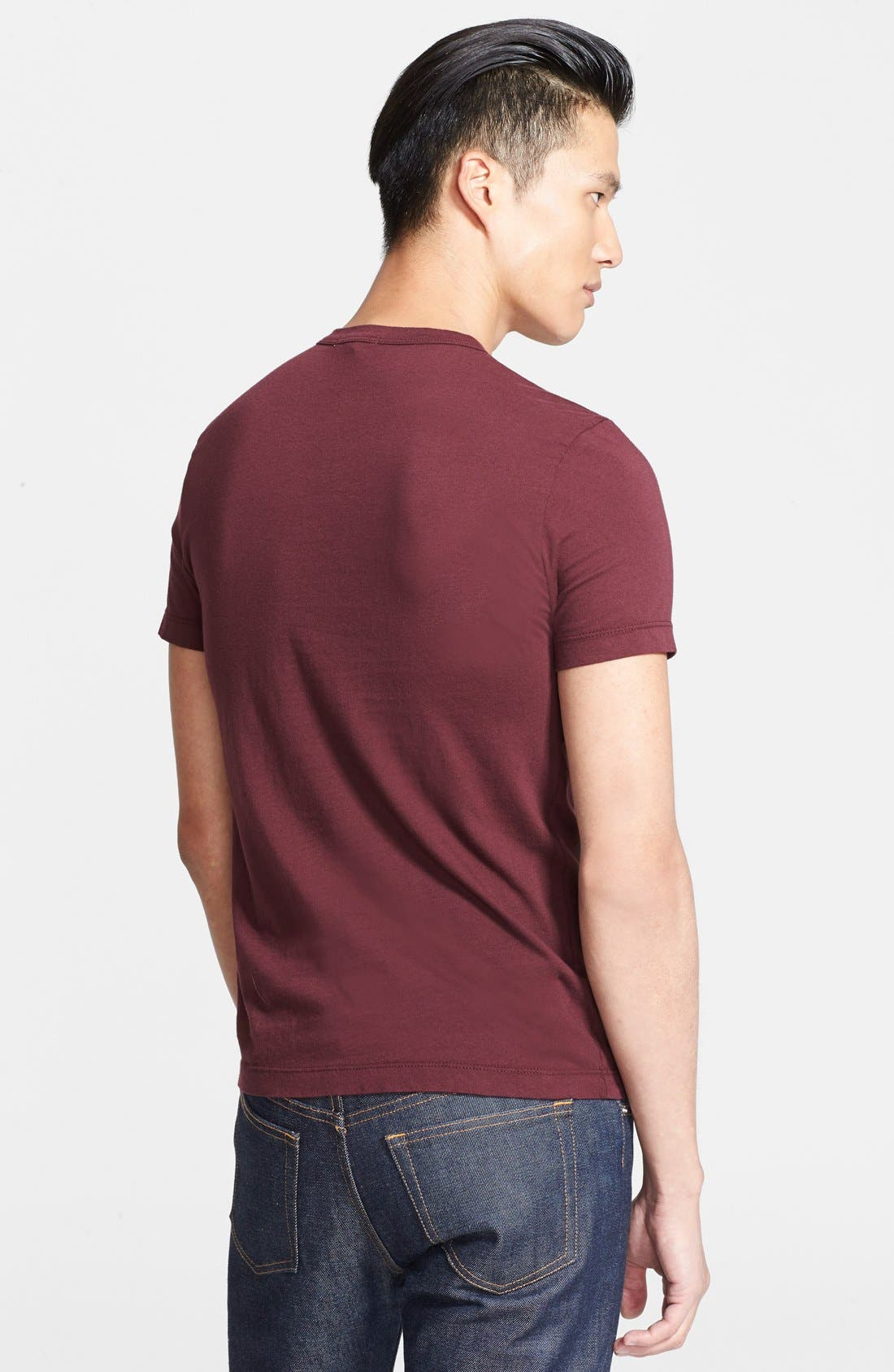 Crewneck Jersey T-Shirt,                             Alternate thumbnail 209, color,
