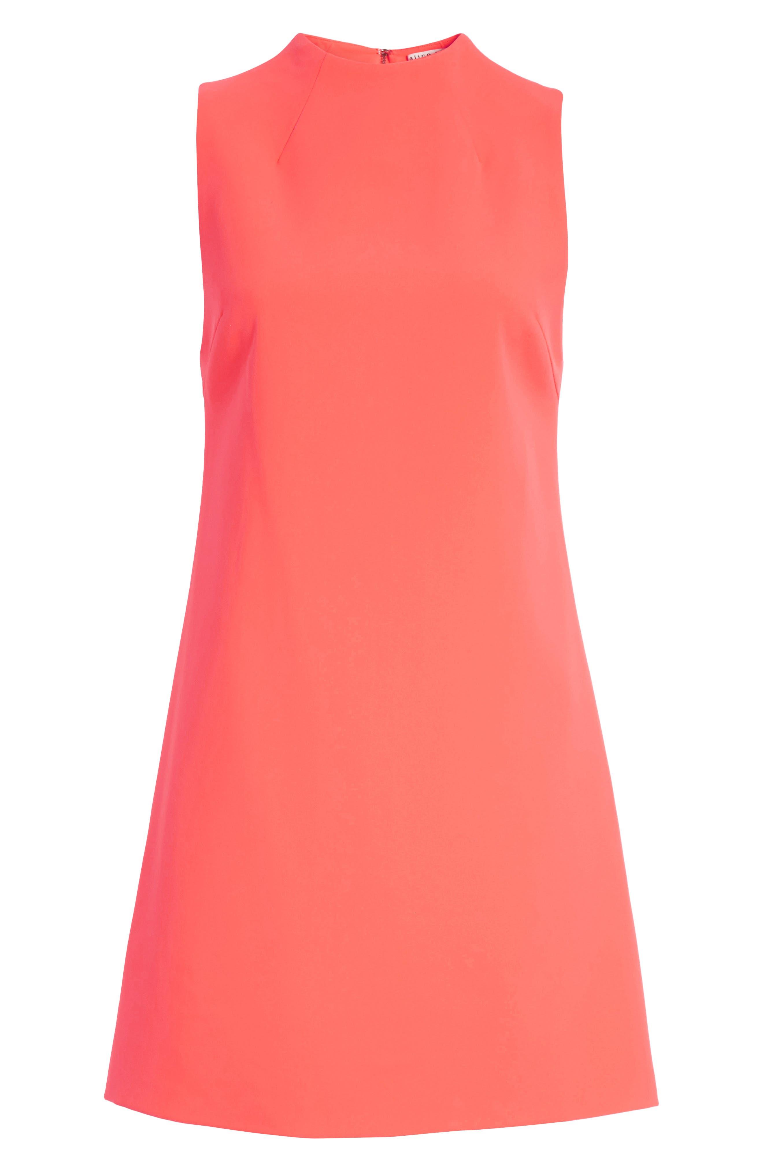 Coley A-Line Shift Dress,                             Alternate thumbnail 7, color,                             800