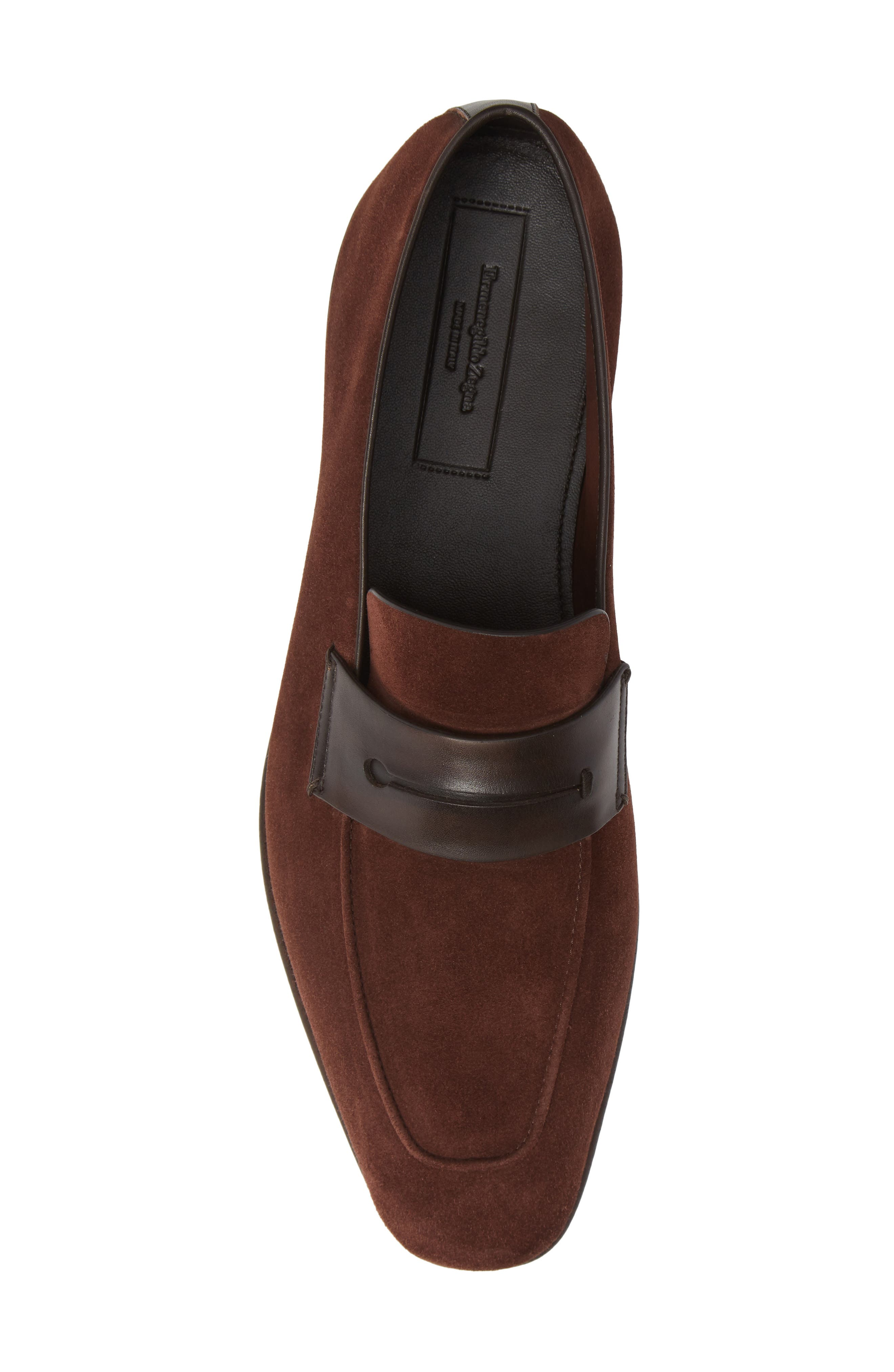 Penny Loafer,                             Alternate thumbnail 5, color,                             BROWN