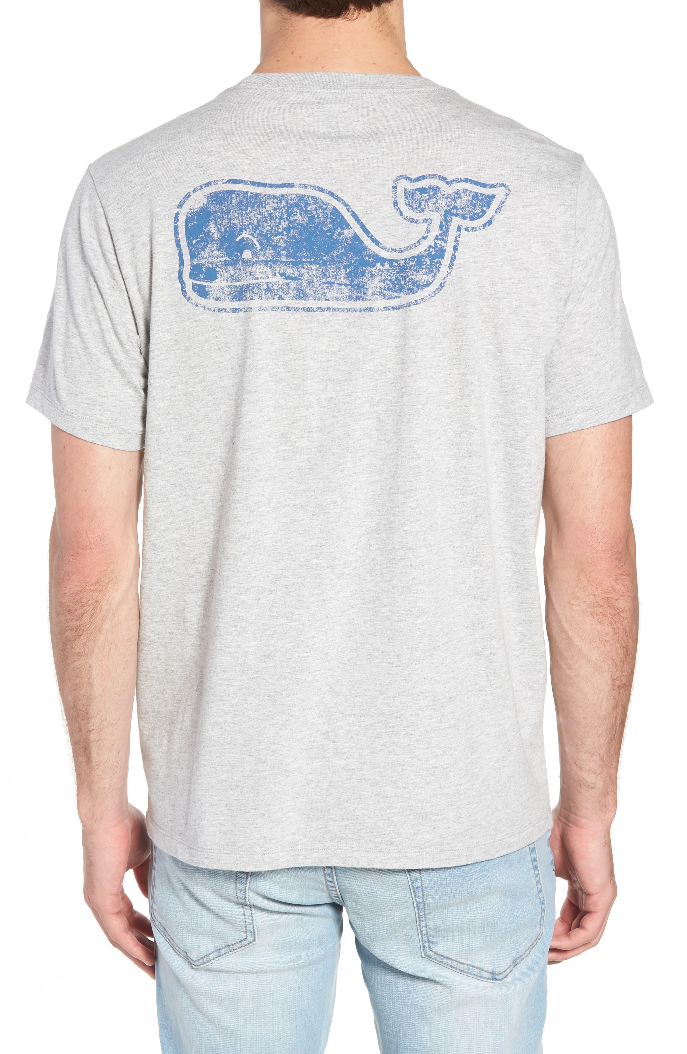Whale Crewneck T-Shirt,                             Alternate thumbnail 2, color,                             GREY HEATHER