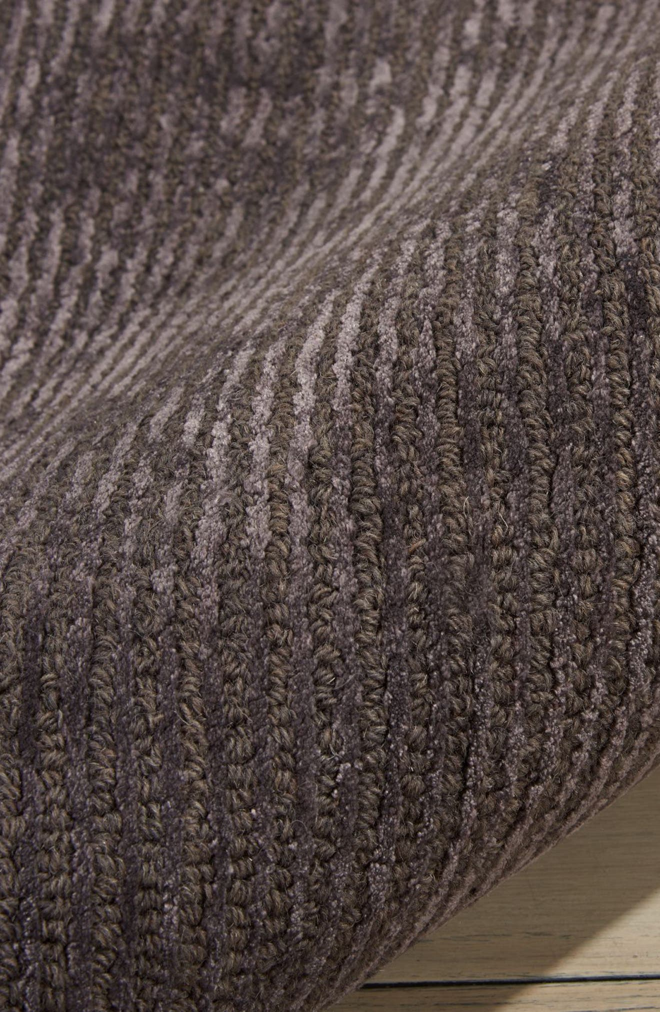 Ravine Furrow Handwoven Area Rug,                             Alternate thumbnail 6, color,                             001