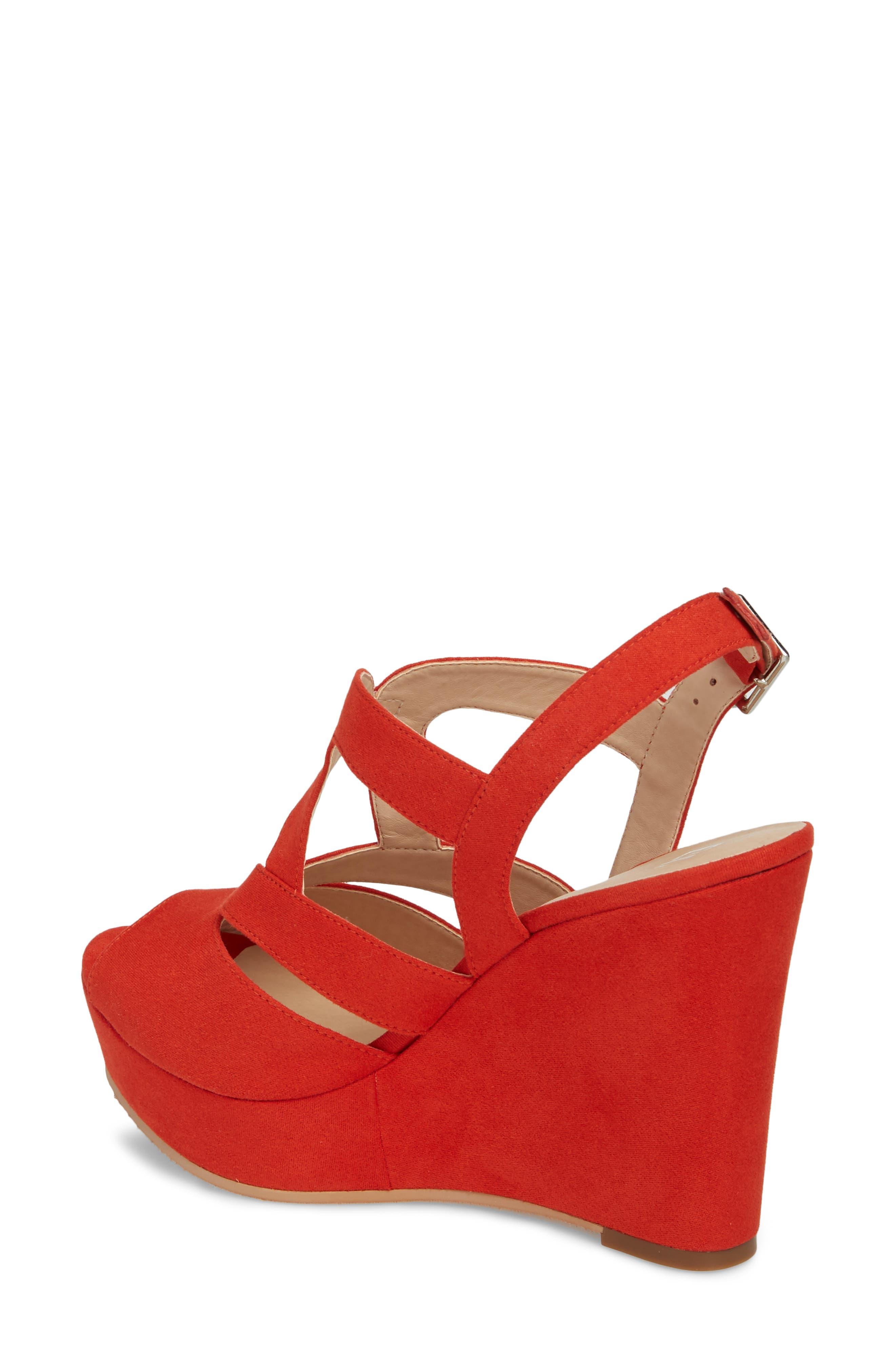 Sunny Platform Wedge Sandal,                             Alternate thumbnail 12, color,