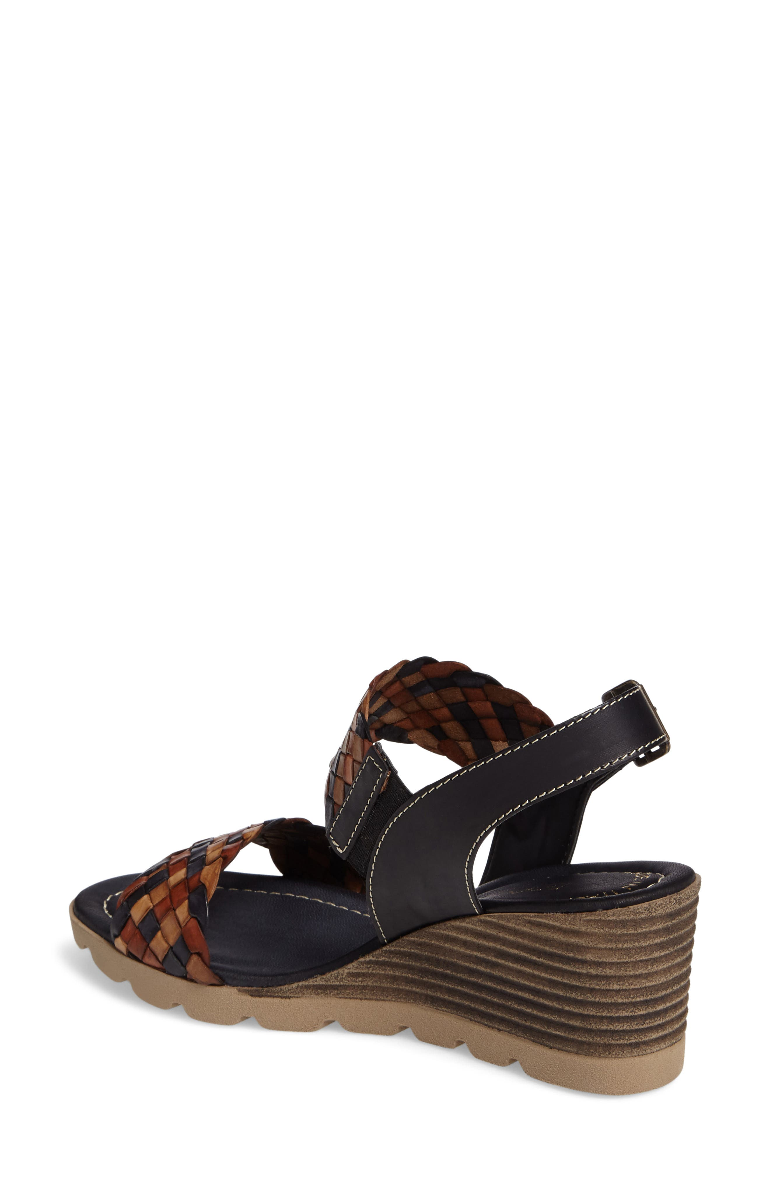 Cool Wedge Sandal,                             Alternate thumbnail 2, color,                             001