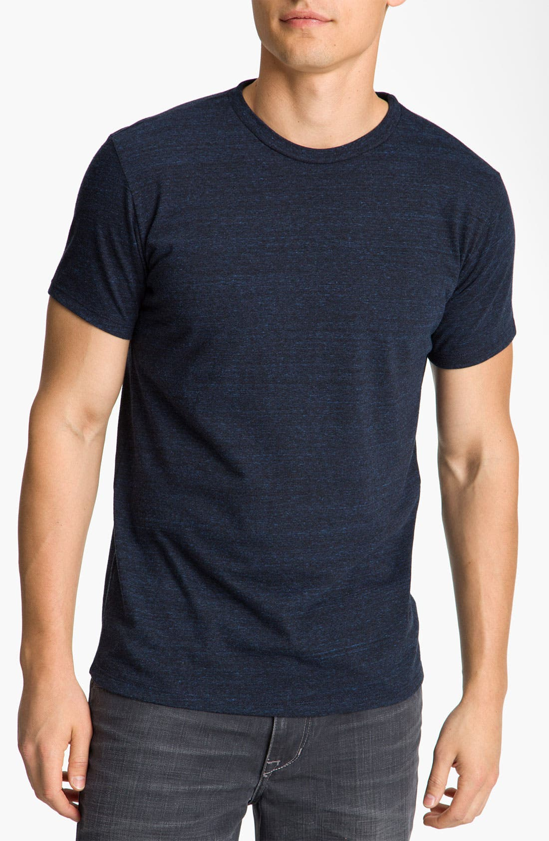 Threads for Thought Heathered Crew Neck,                             Main thumbnail 6, color,