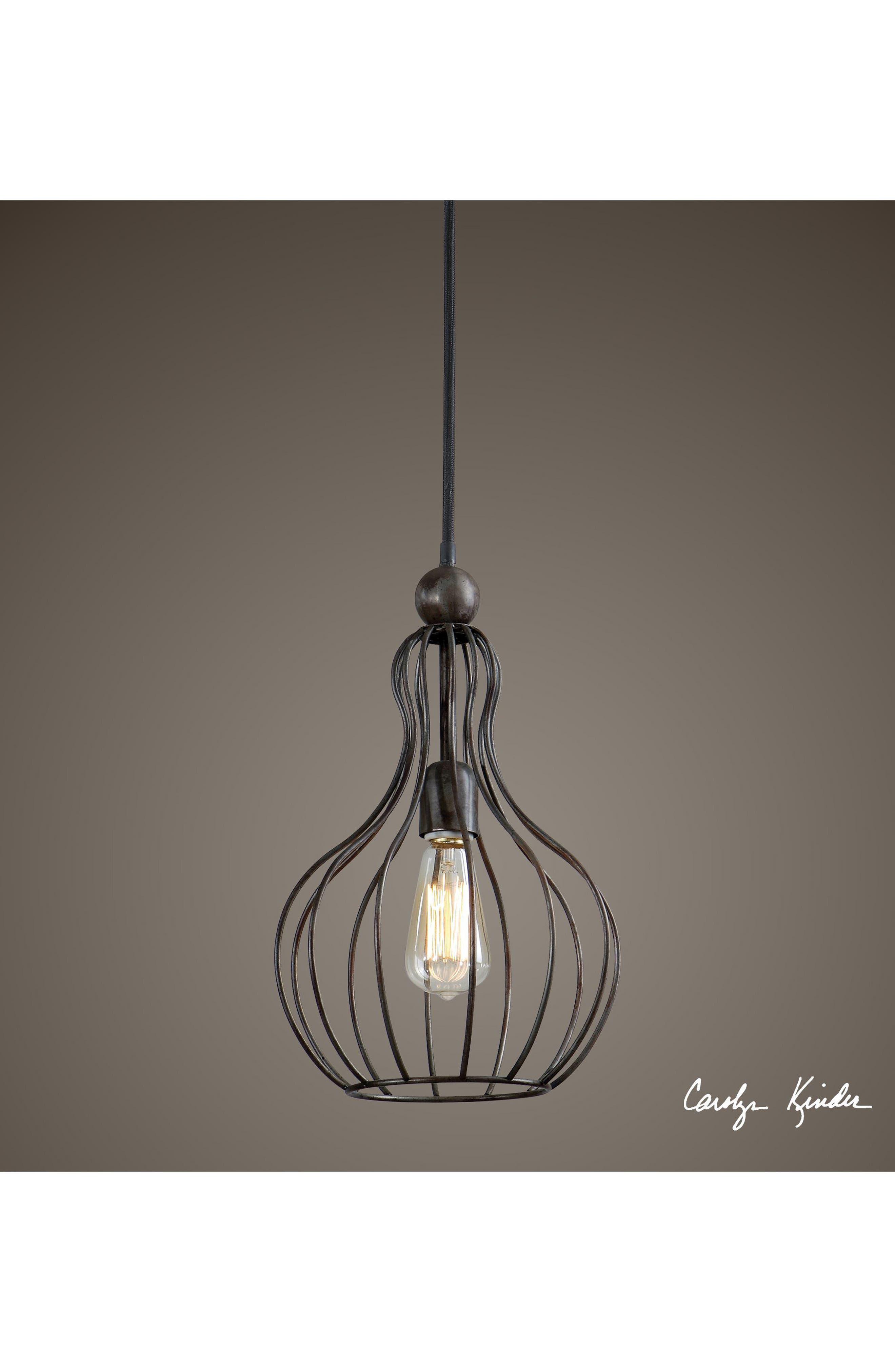 Bourret Pendant Lamp,                             Alternate thumbnail 2, color,