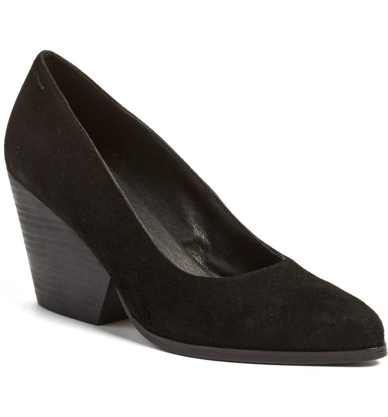 Eileen Fisher Hawk Block Heel Pump (Women) Great buy