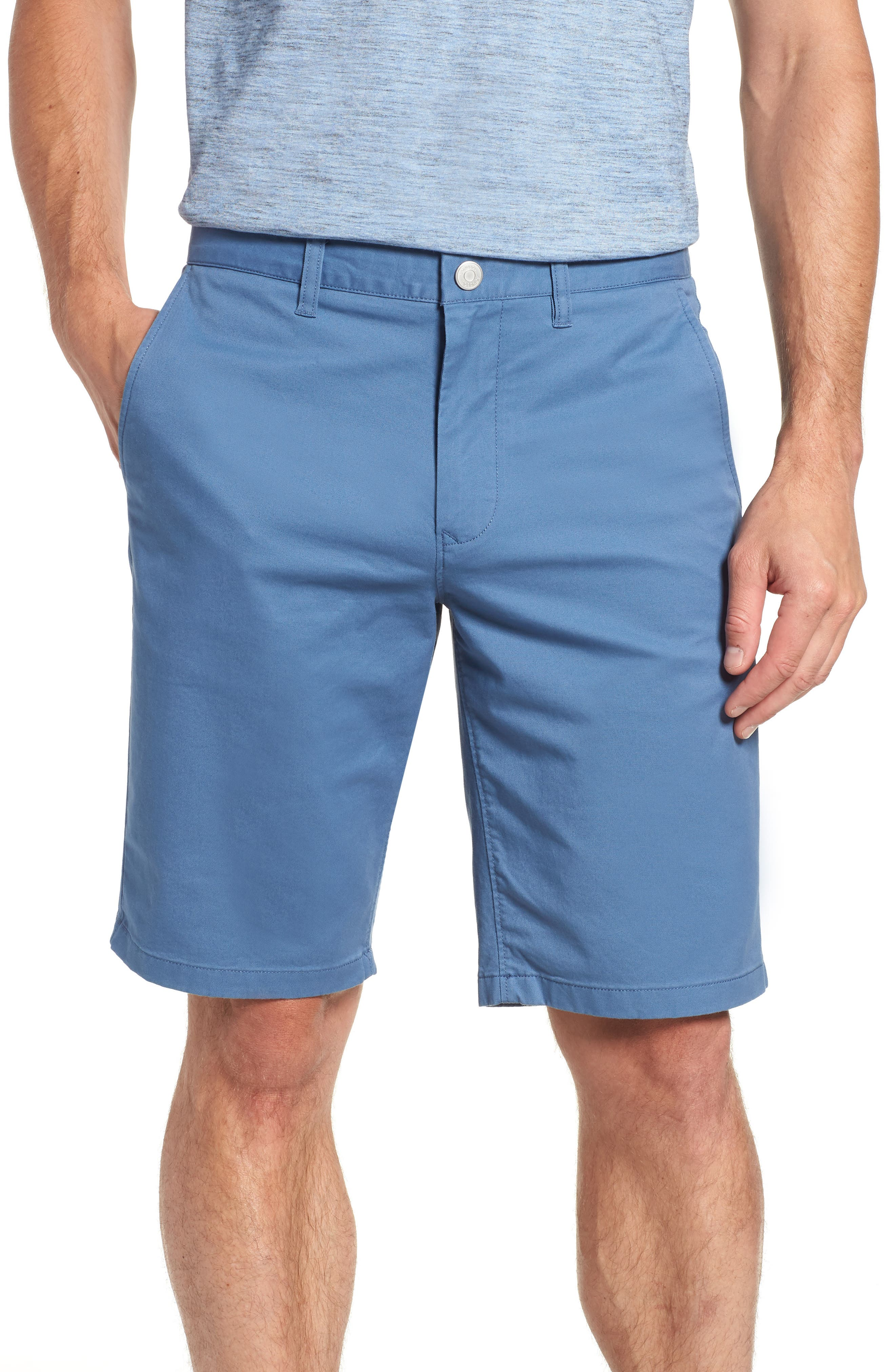 Stretch Washed Chino 11-Inch Shorts,                             Main thumbnail 9, color,