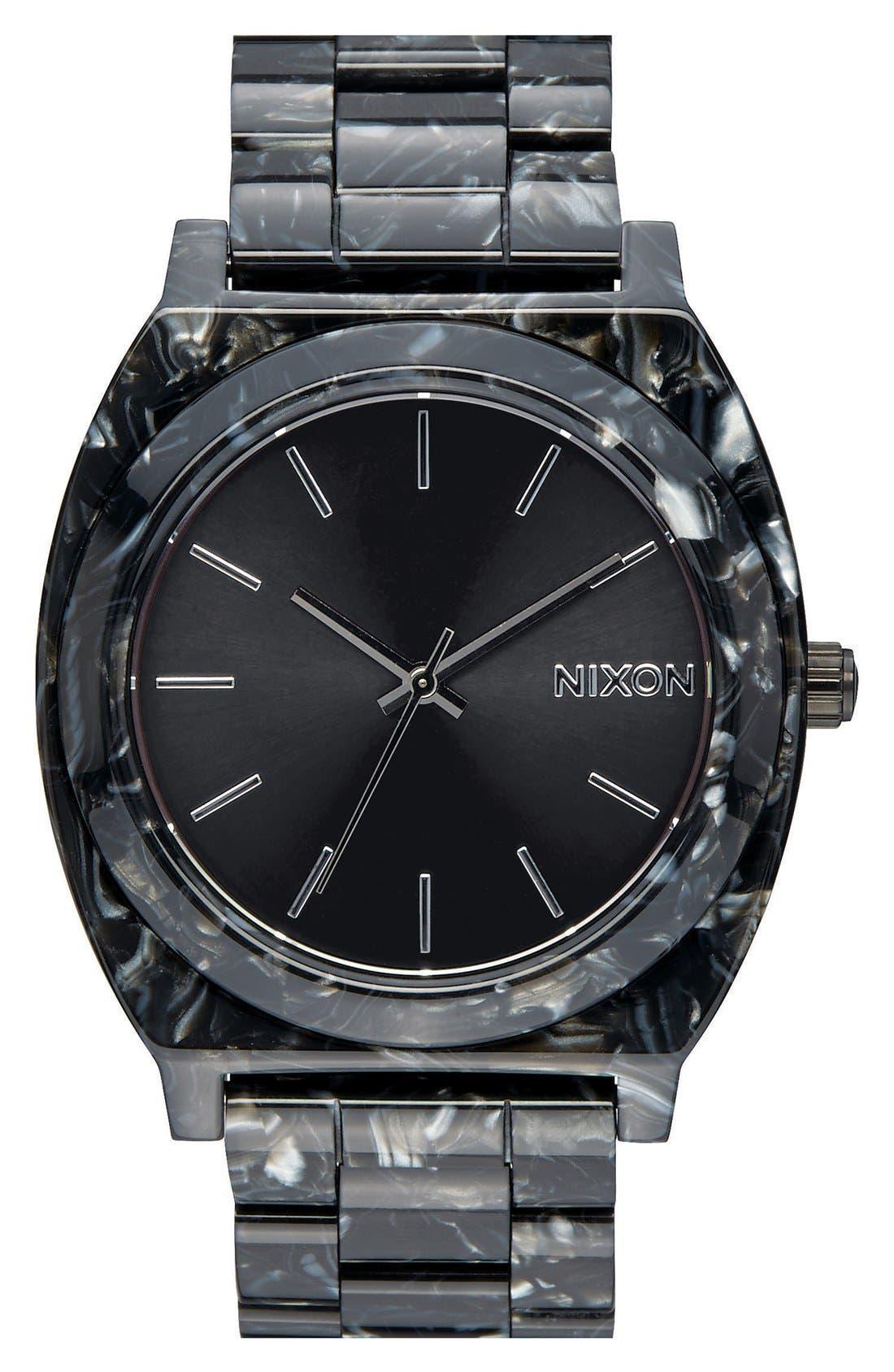 'The Time Teller' Bracelet Watch, 37mm,                             Main thumbnail 1, color,                             001