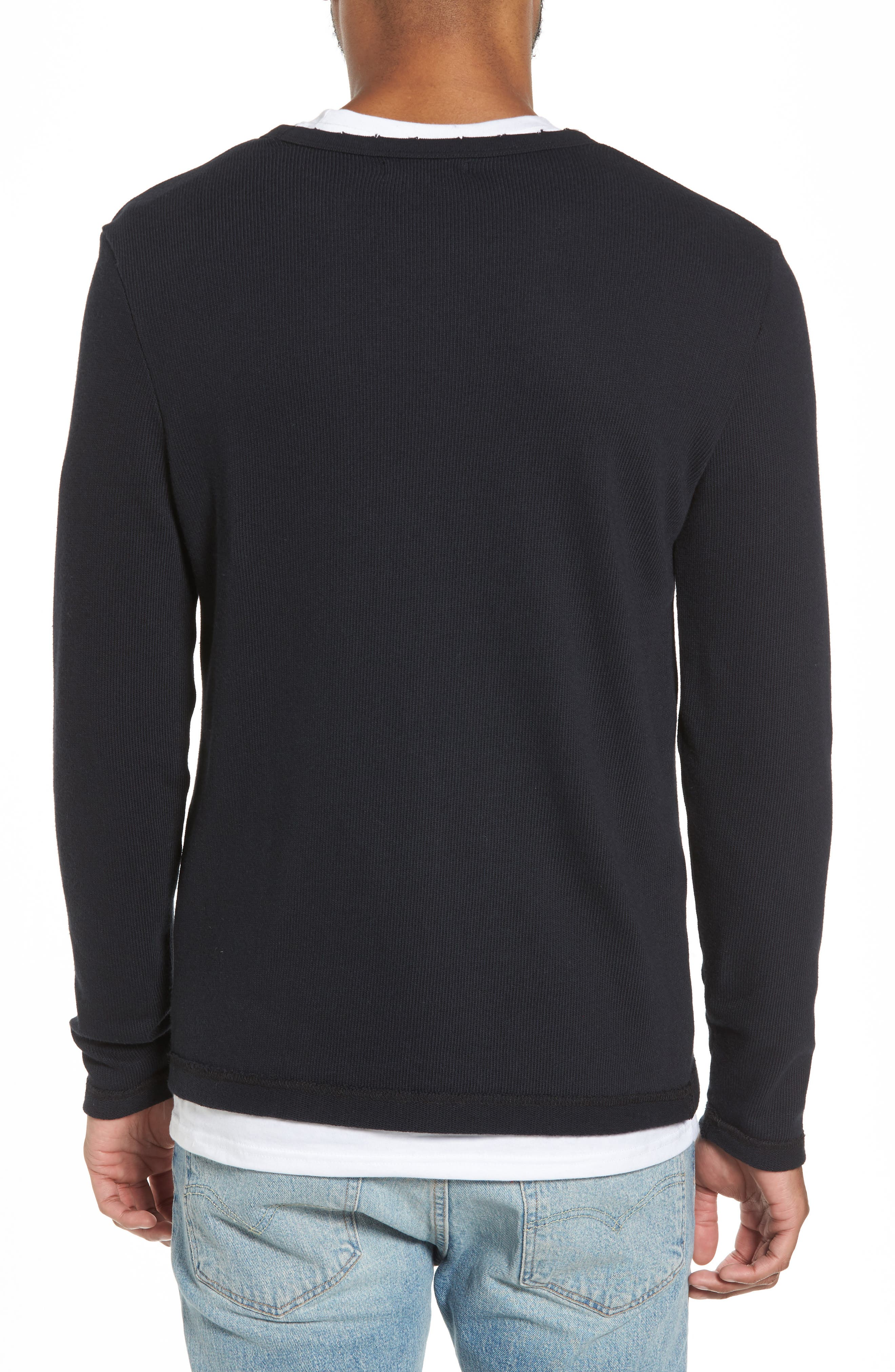 Crewneck Pullover,                             Alternate thumbnail 3, color,