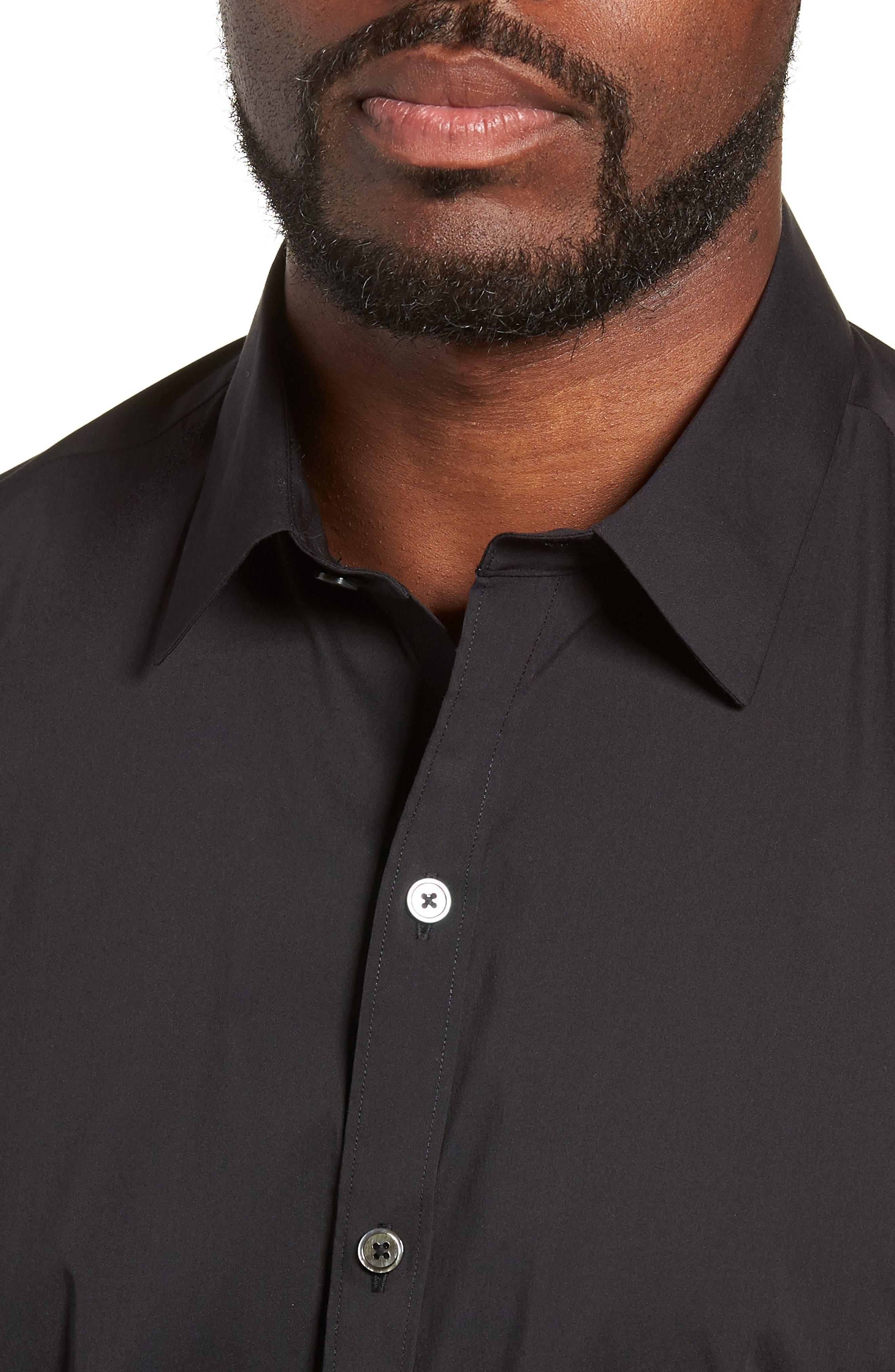 Mulberry Regular Fit Sport Shirt,                             Alternate thumbnail 2, color,                             BLACK