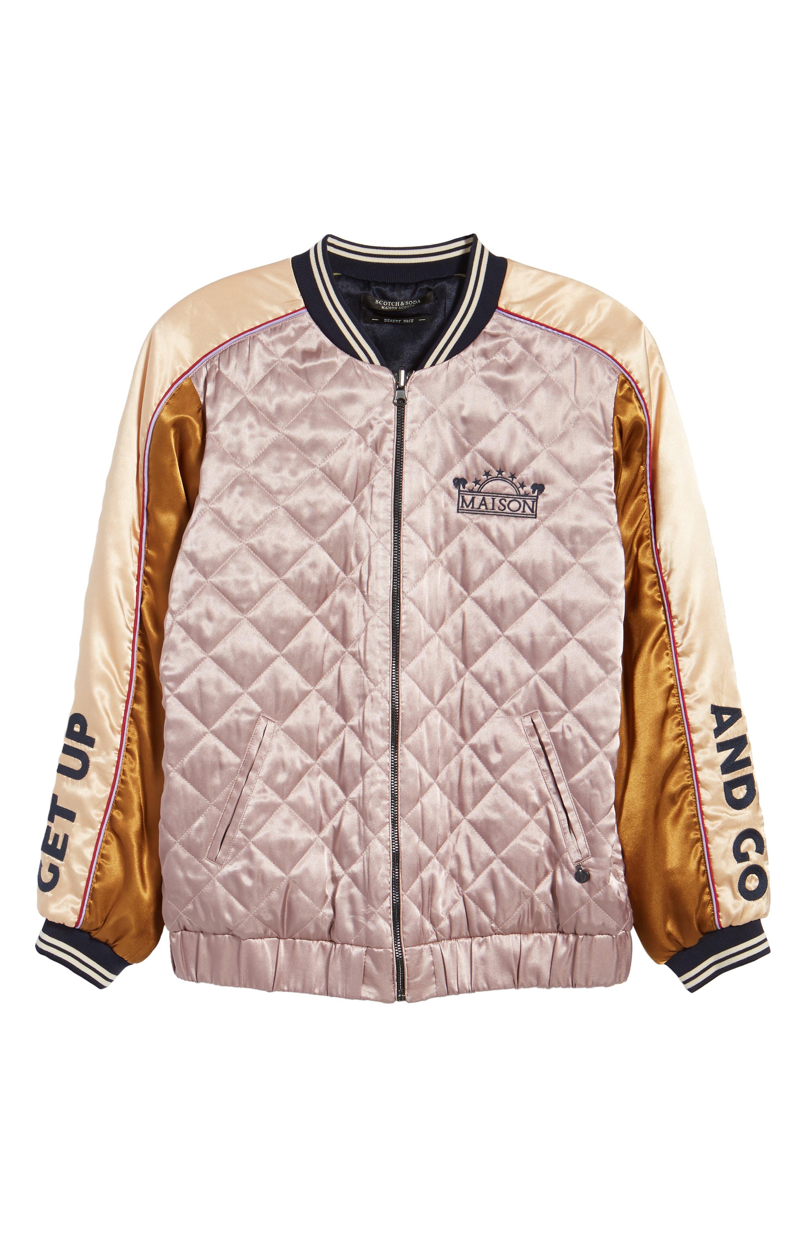 Reversible Varsity Jacket,                             Alternate thumbnail 6, color,                             650