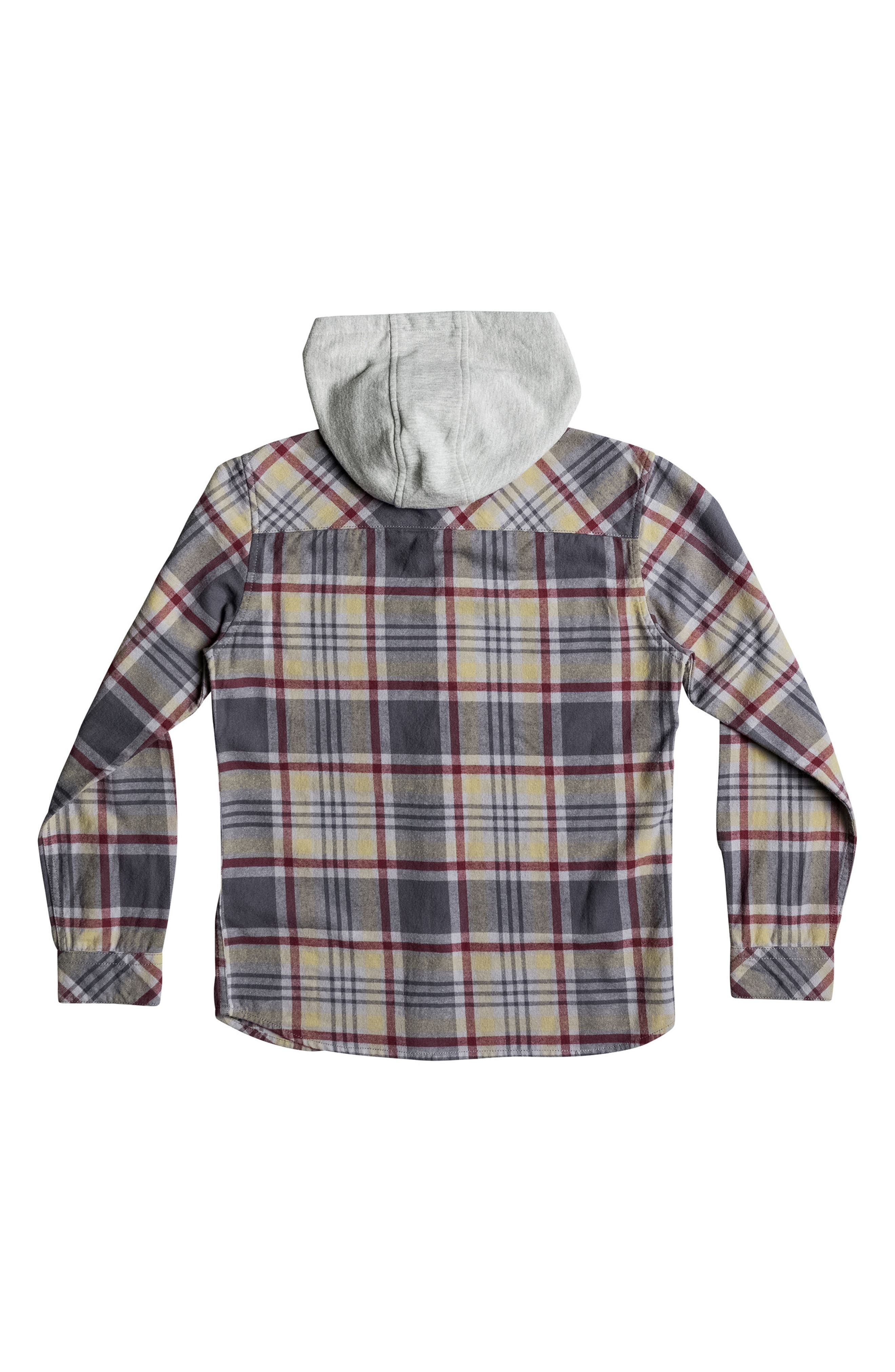 Hooded Tang Plaid Flannel Shirt,                             Alternate thumbnail 2, color,                             267