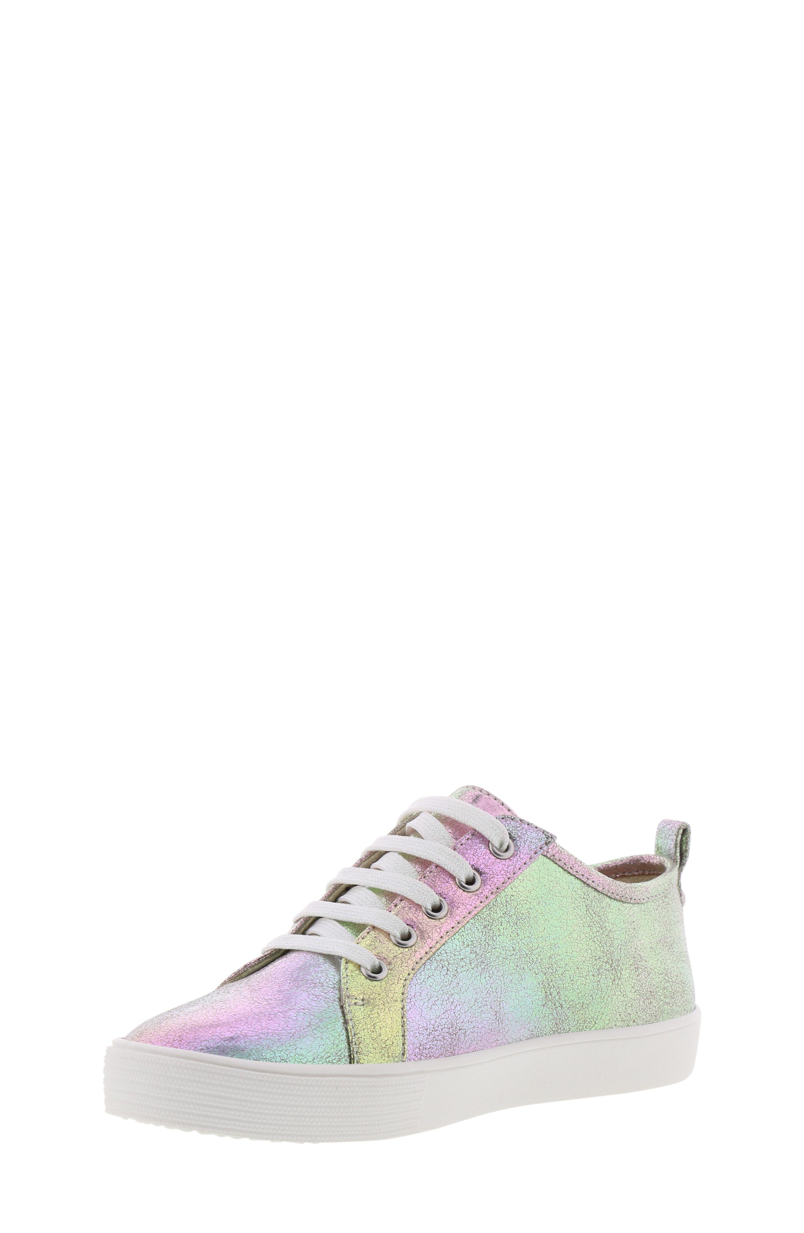 Bella Aqua Slip-On Sneaker,                             Alternate thumbnail 9, color,                             GASOLINE IRIDESCENT