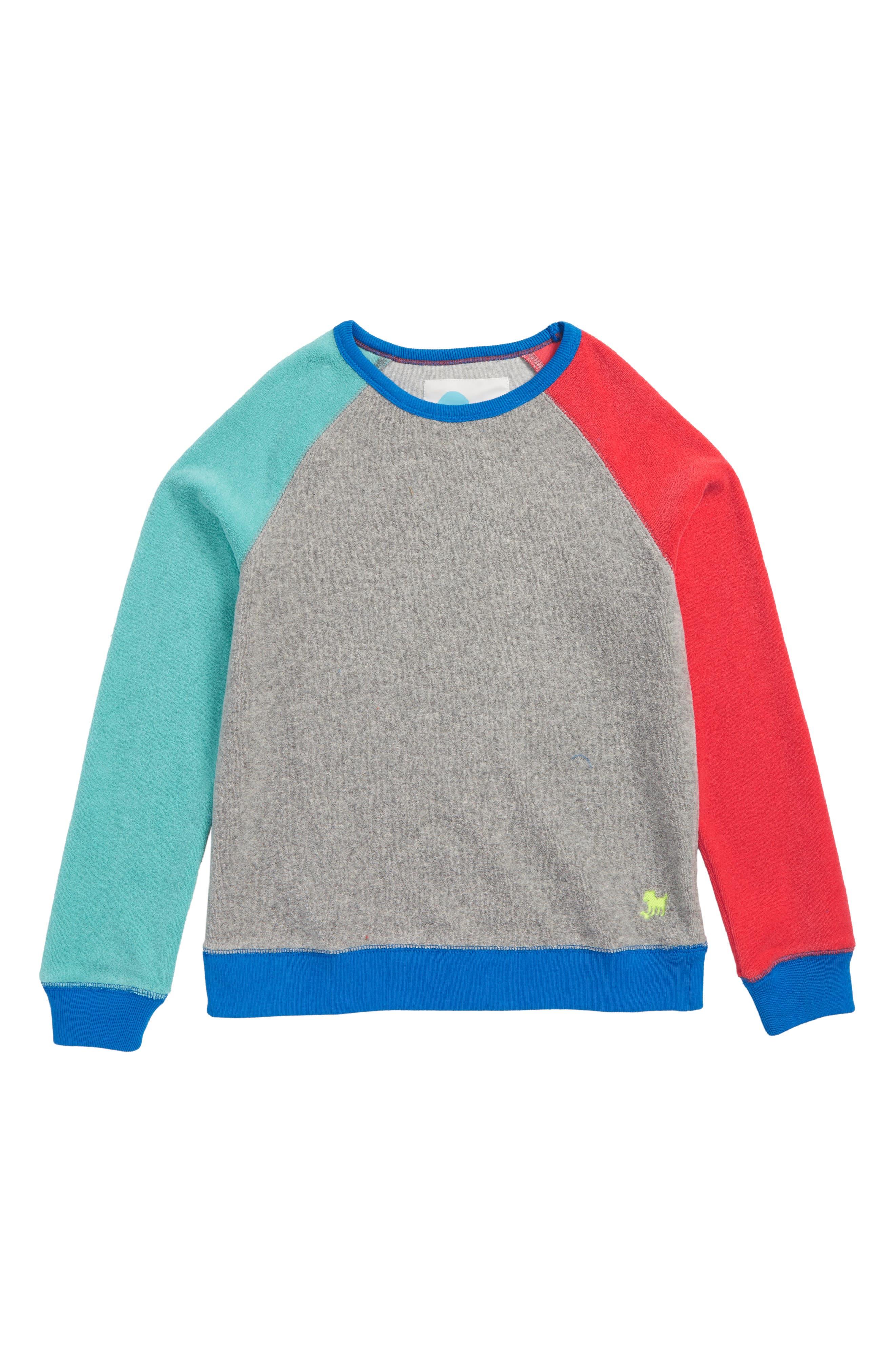Toweling Sweatshirt,                             Main thumbnail 1, color,
