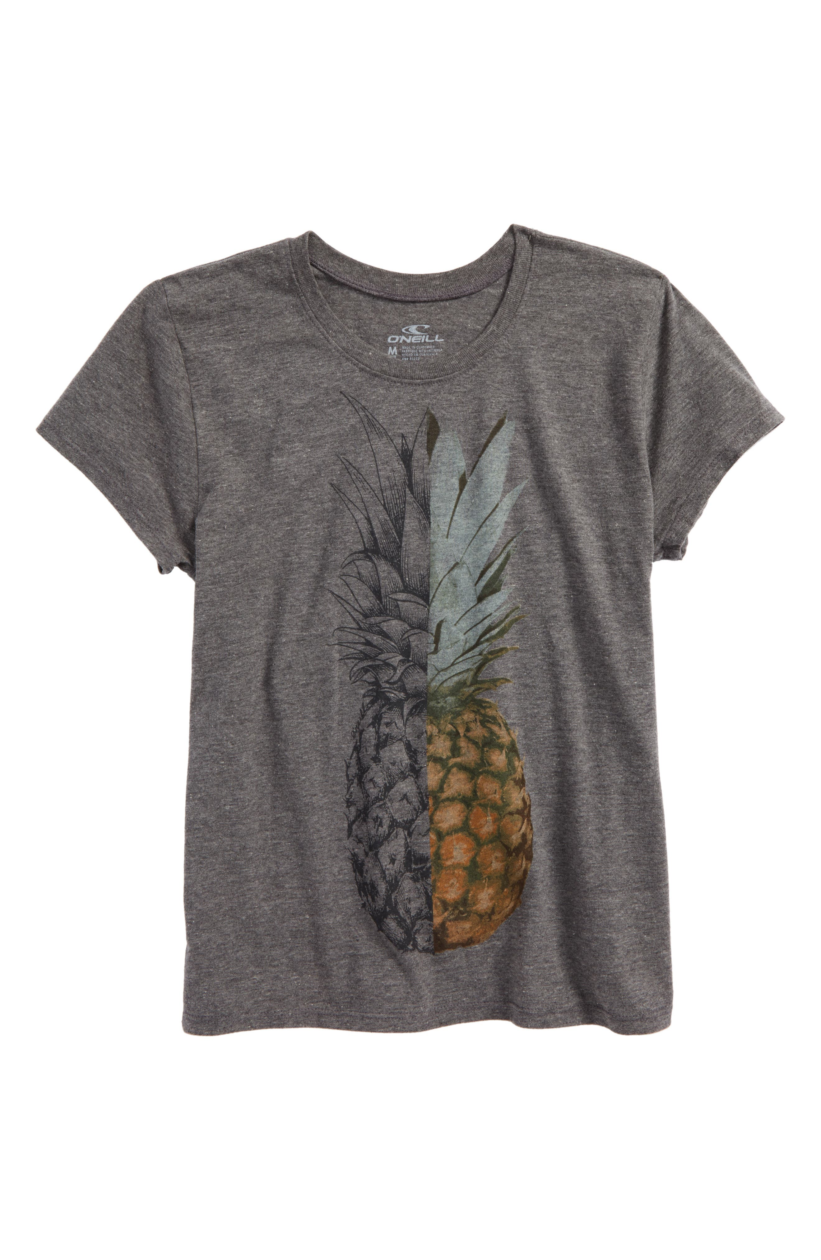 Pineapple Slice Graphic Tee,                             Main thumbnail 1, color,                             030