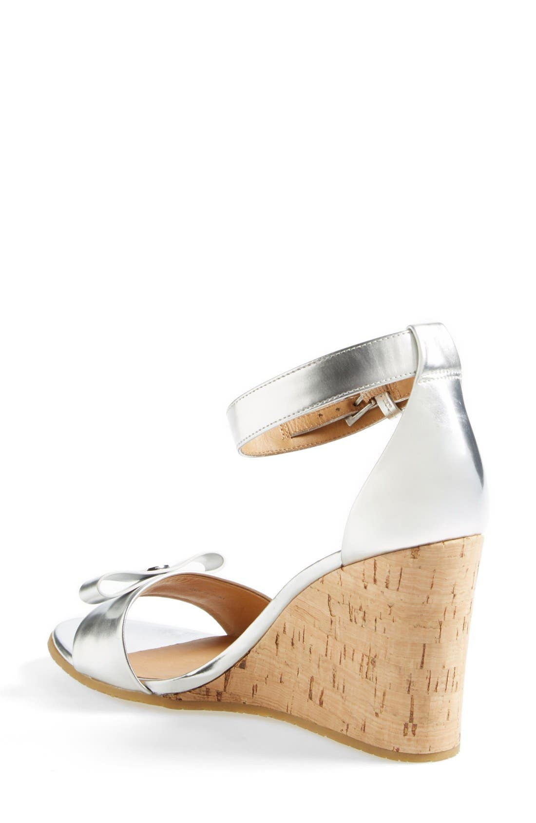 MARC BY MARC JACOBS 'Logo Disc' Sandal,                             Alternate thumbnail 4, color,                             040