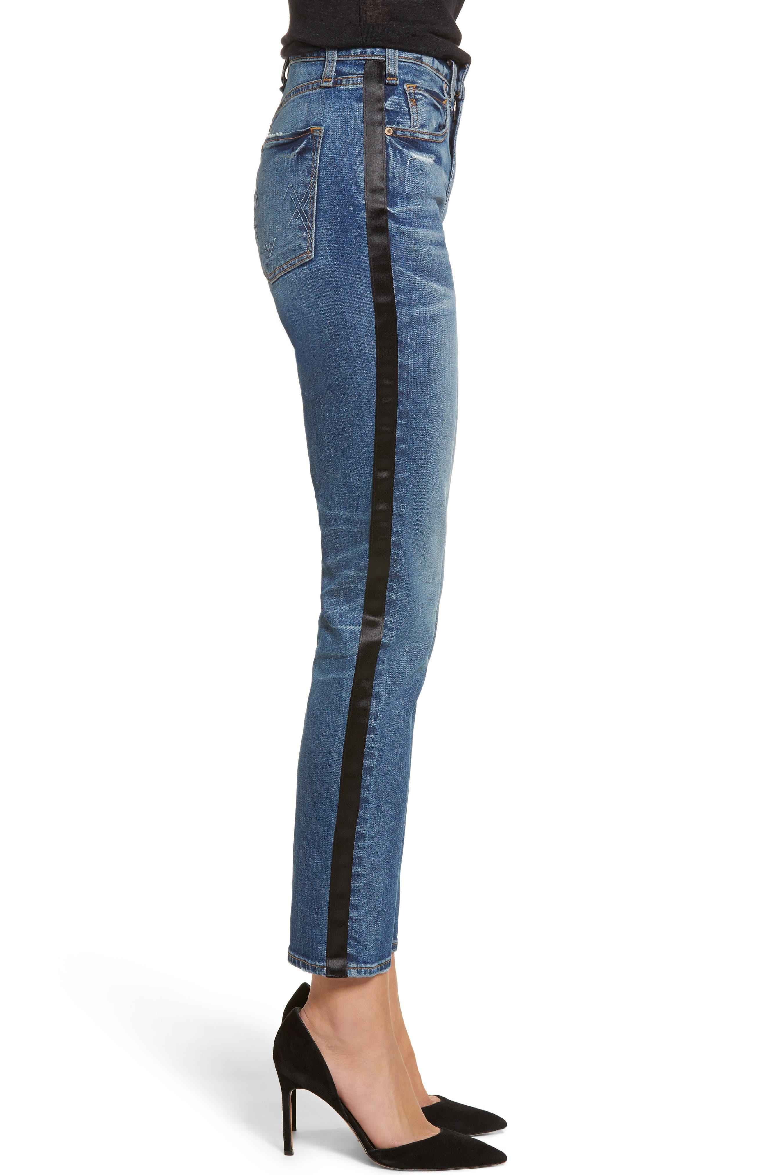 Vintage Slim Ankle Jeans,                             Alternate thumbnail 3, color,                             421