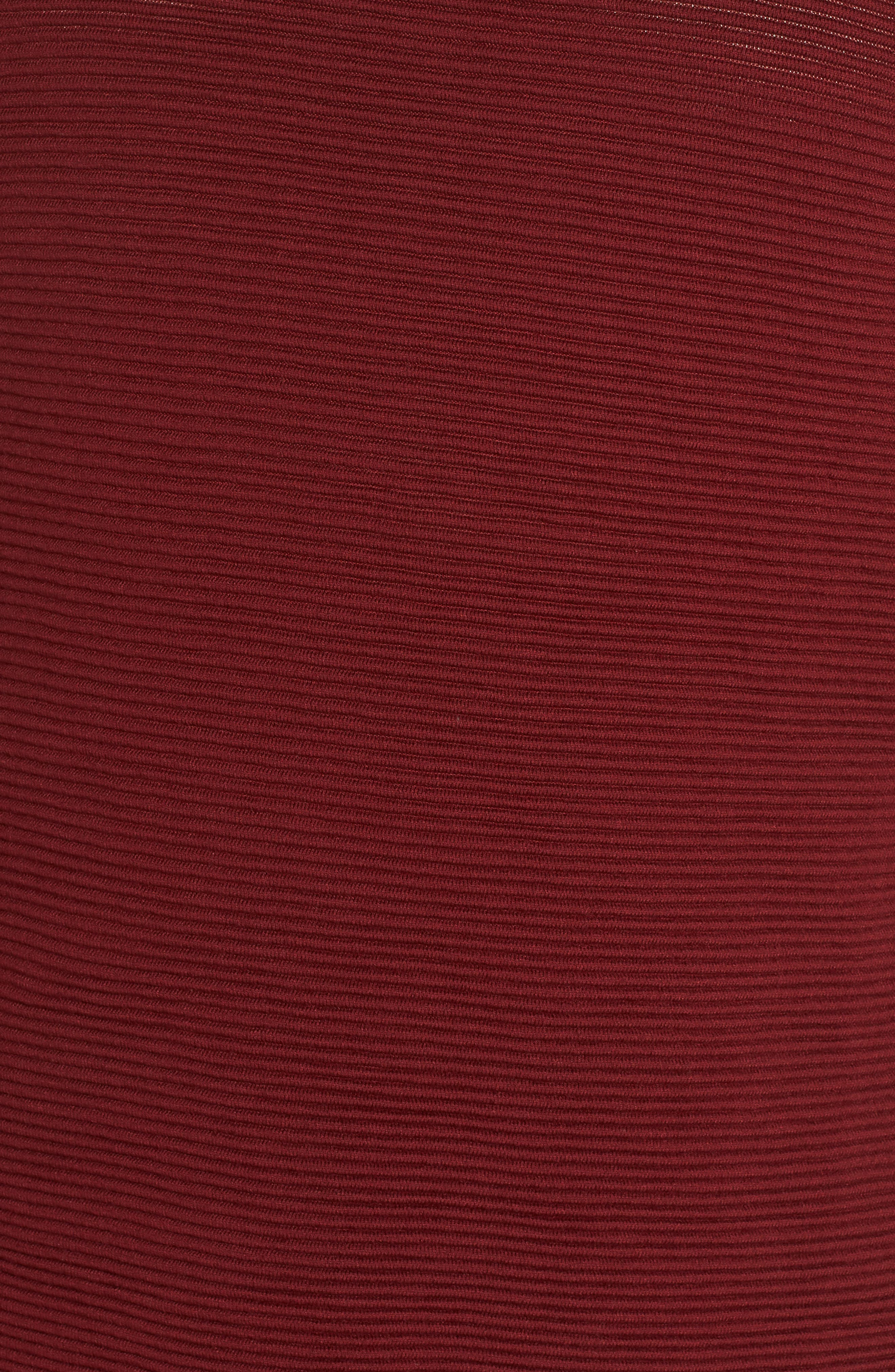 LAFAYETTE 148 NEW YORK,                             Bateau Neck Matte Crepe Sweater,                             Alternate thumbnail 5, color,                             601