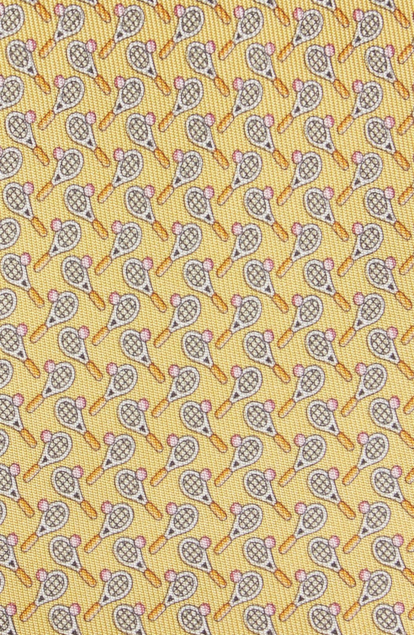 Emma Print Silk Tie,                             Alternate thumbnail 6, color,