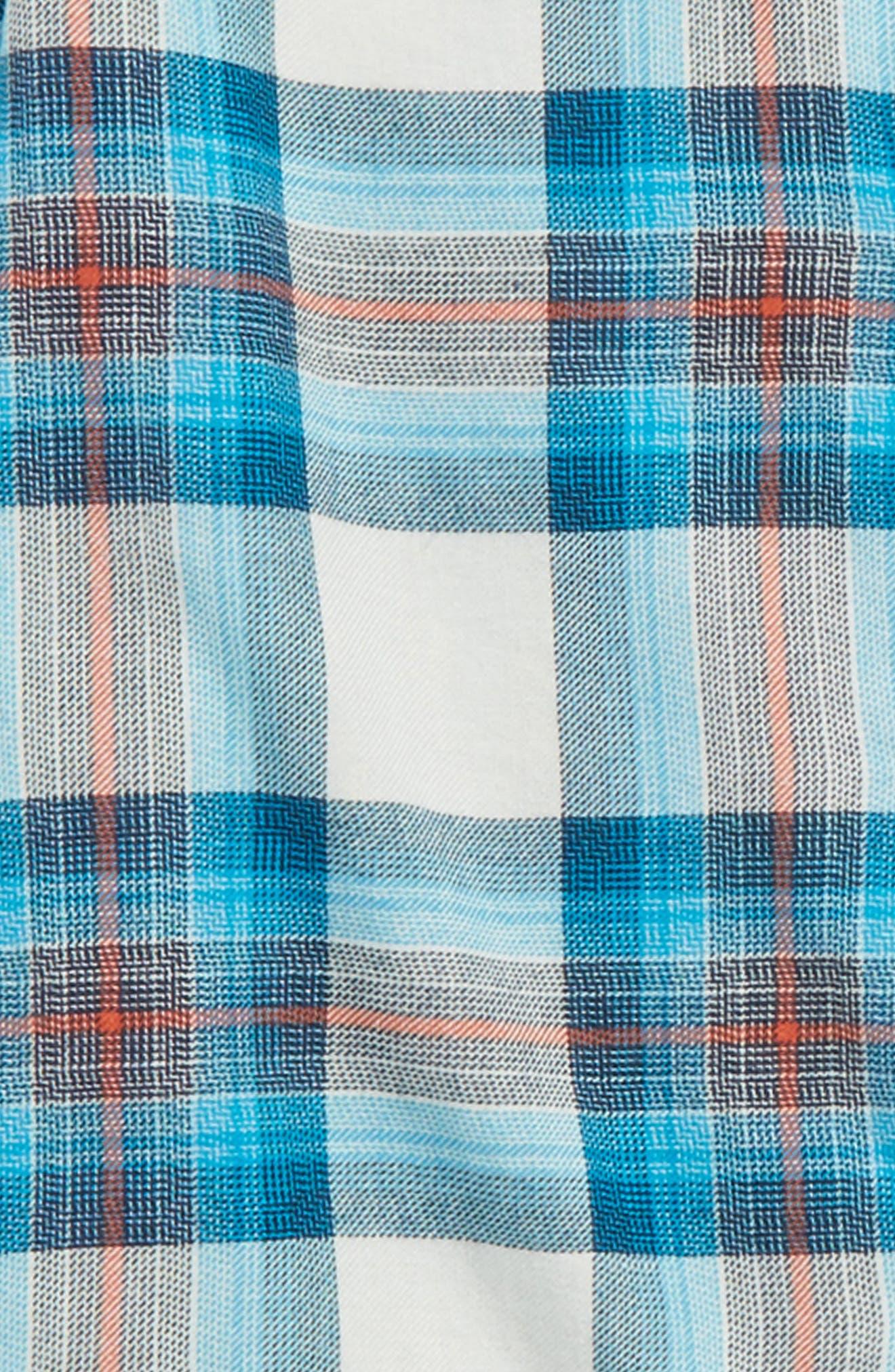 Freemont Plaid Flannel Shirt,                             Alternate thumbnail 2, color,                             020