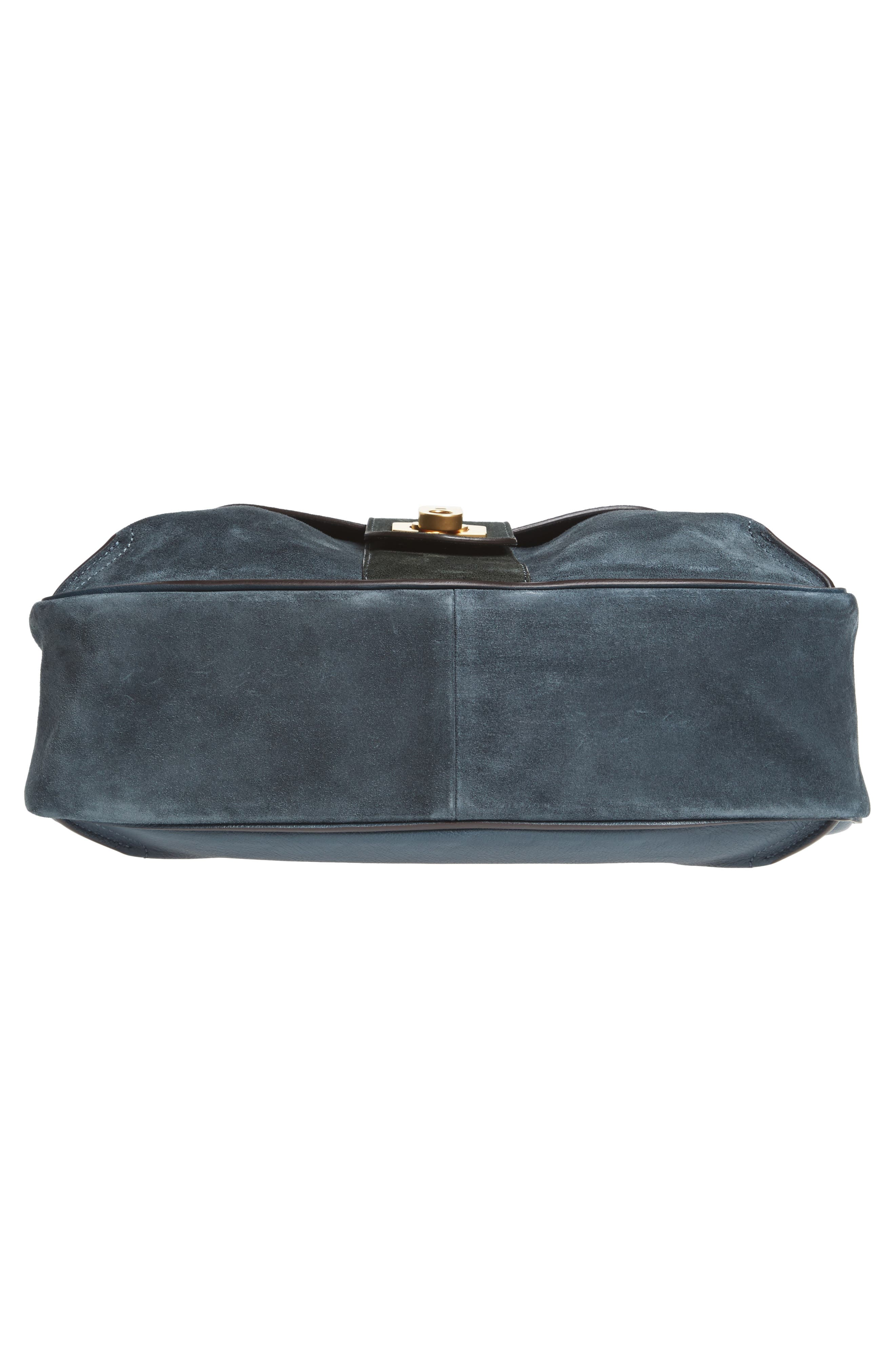 Medium Lexa Leather Shoulder Bag,                             Alternate thumbnail 10, color,