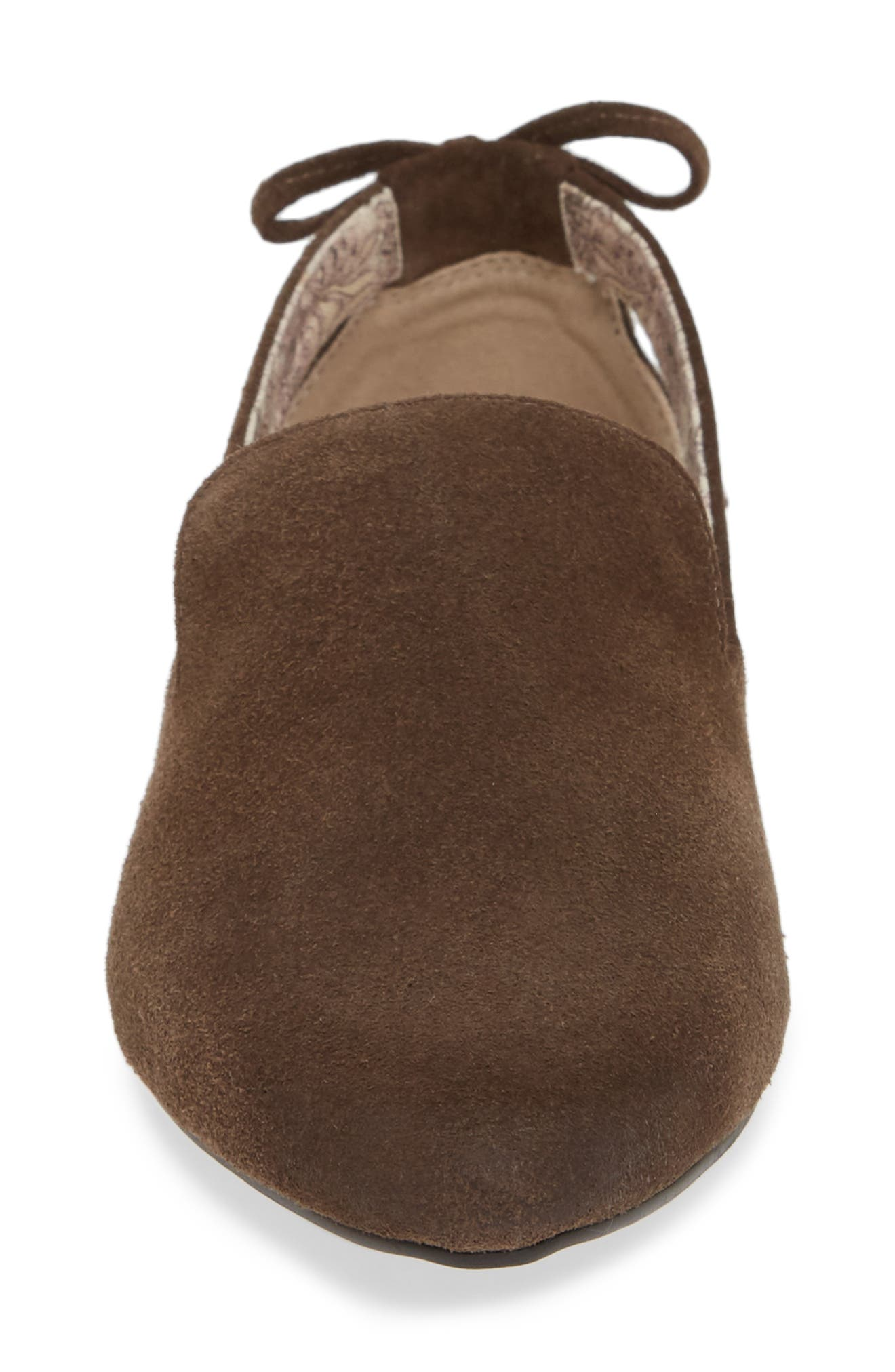 Songbird Loafer,                             Alternate thumbnail 4, color,                             TAUPE COW SUEDE