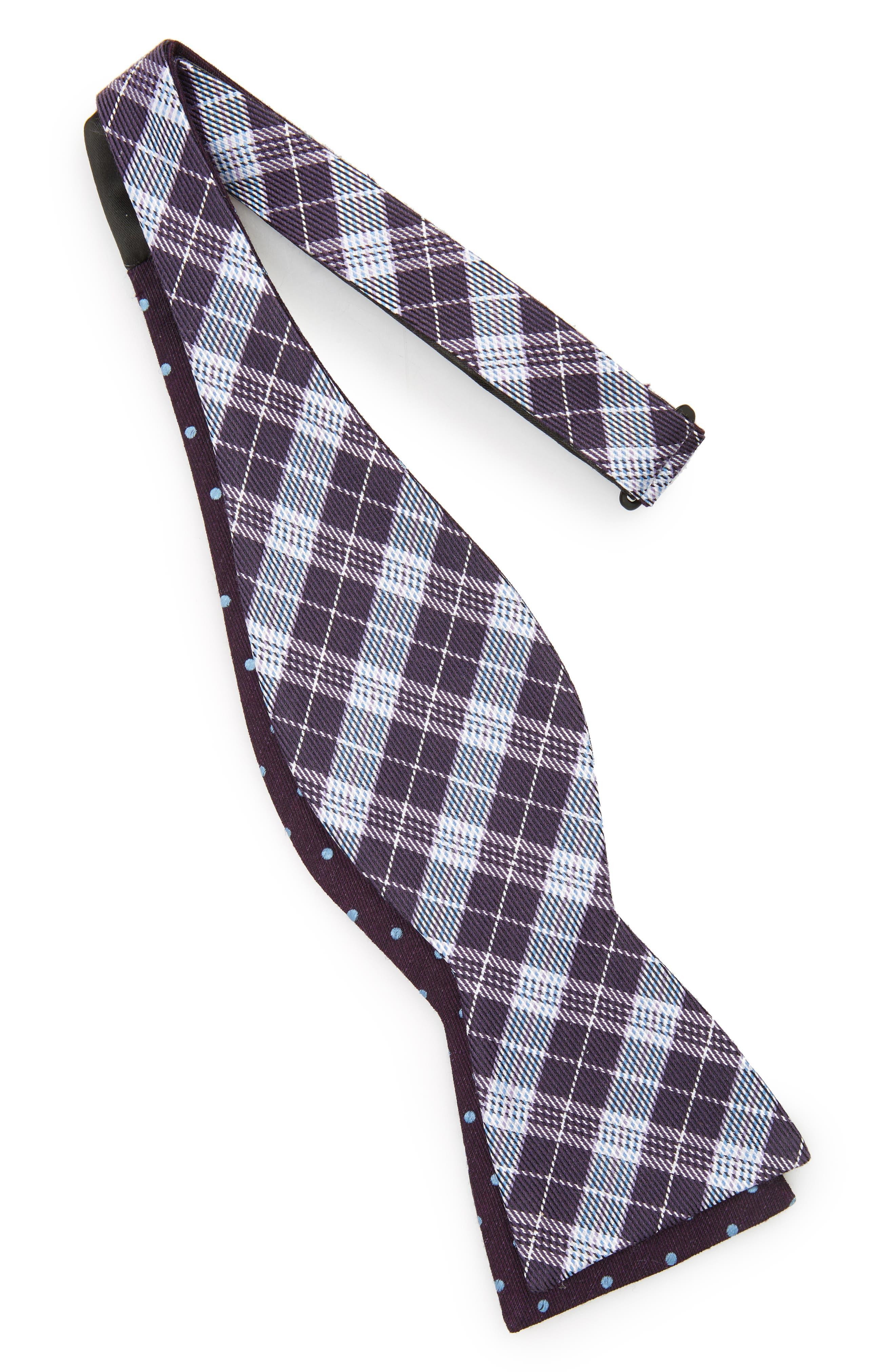 Emerson Reversible Silk Bow Tie,                             Alternate thumbnail 6, color,