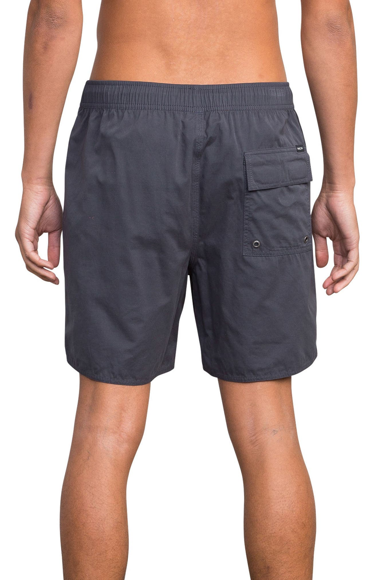 Horton Swim Trunks,                             Alternate thumbnail 2, color,                             SLATE