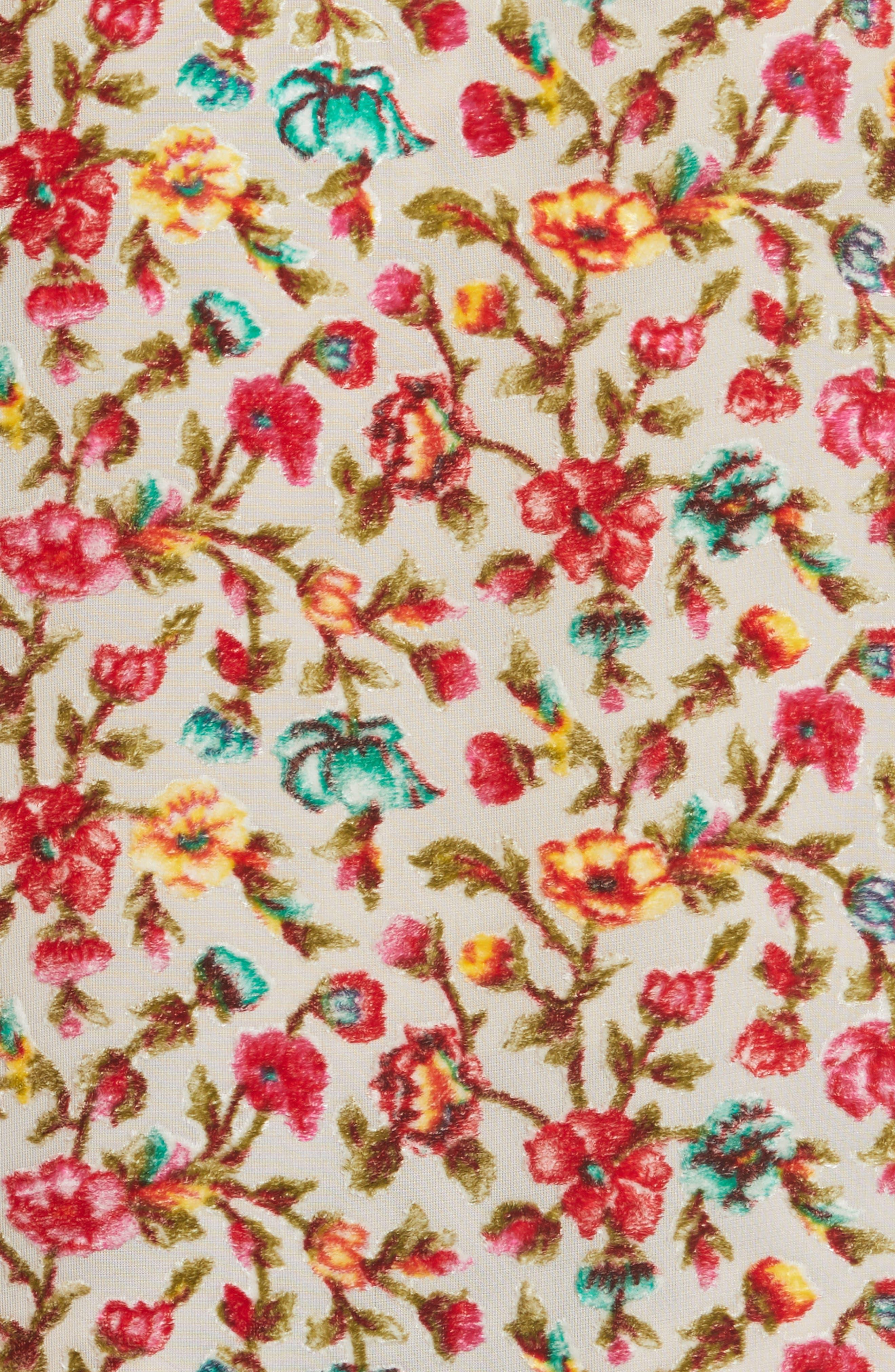 Simpson Printed Dress,                             Alternate thumbnail 5, color,                             693