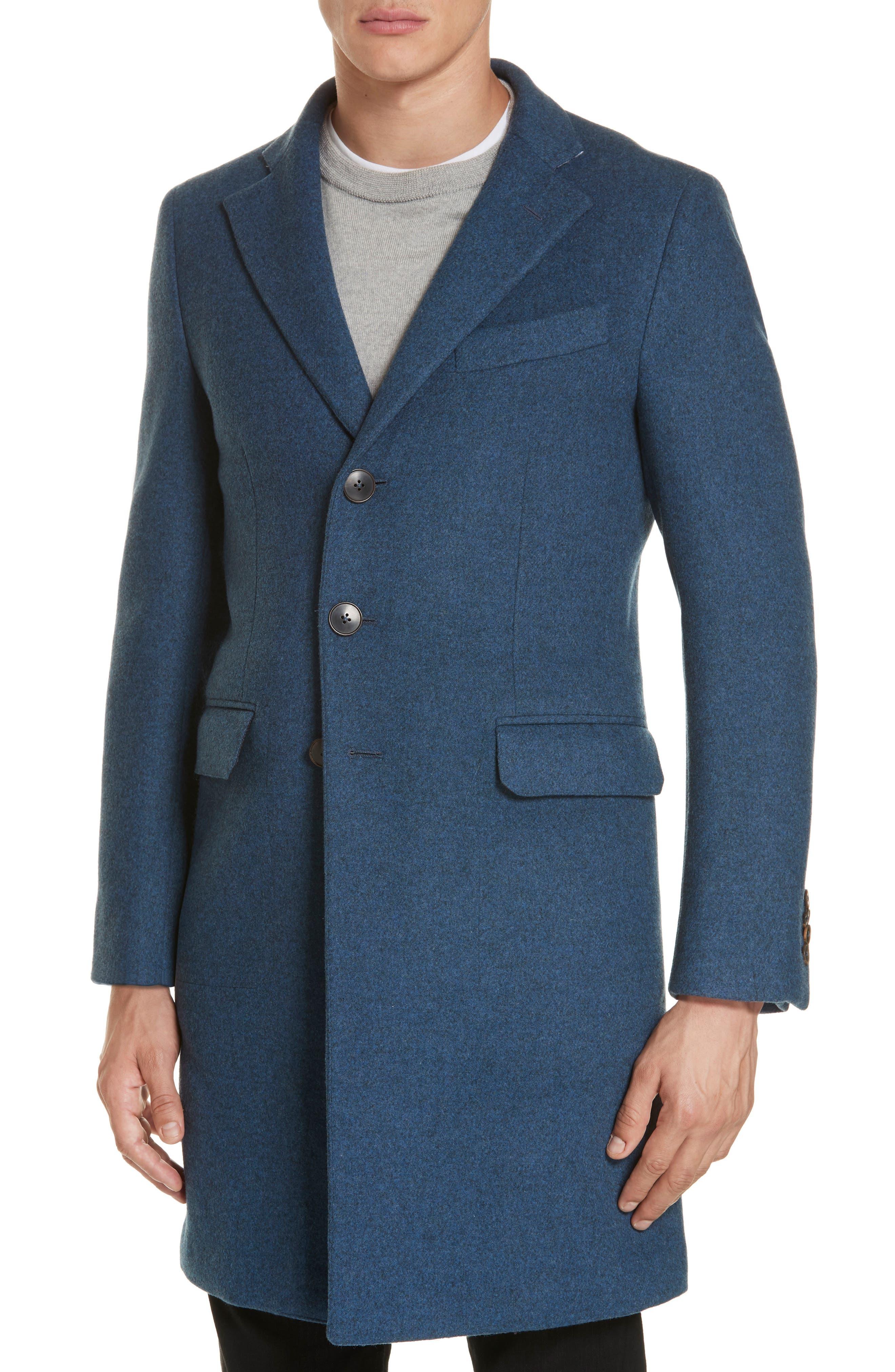 Wool & Cashmere Car Coat,                             Alternate thumbnail 4, color,                             423