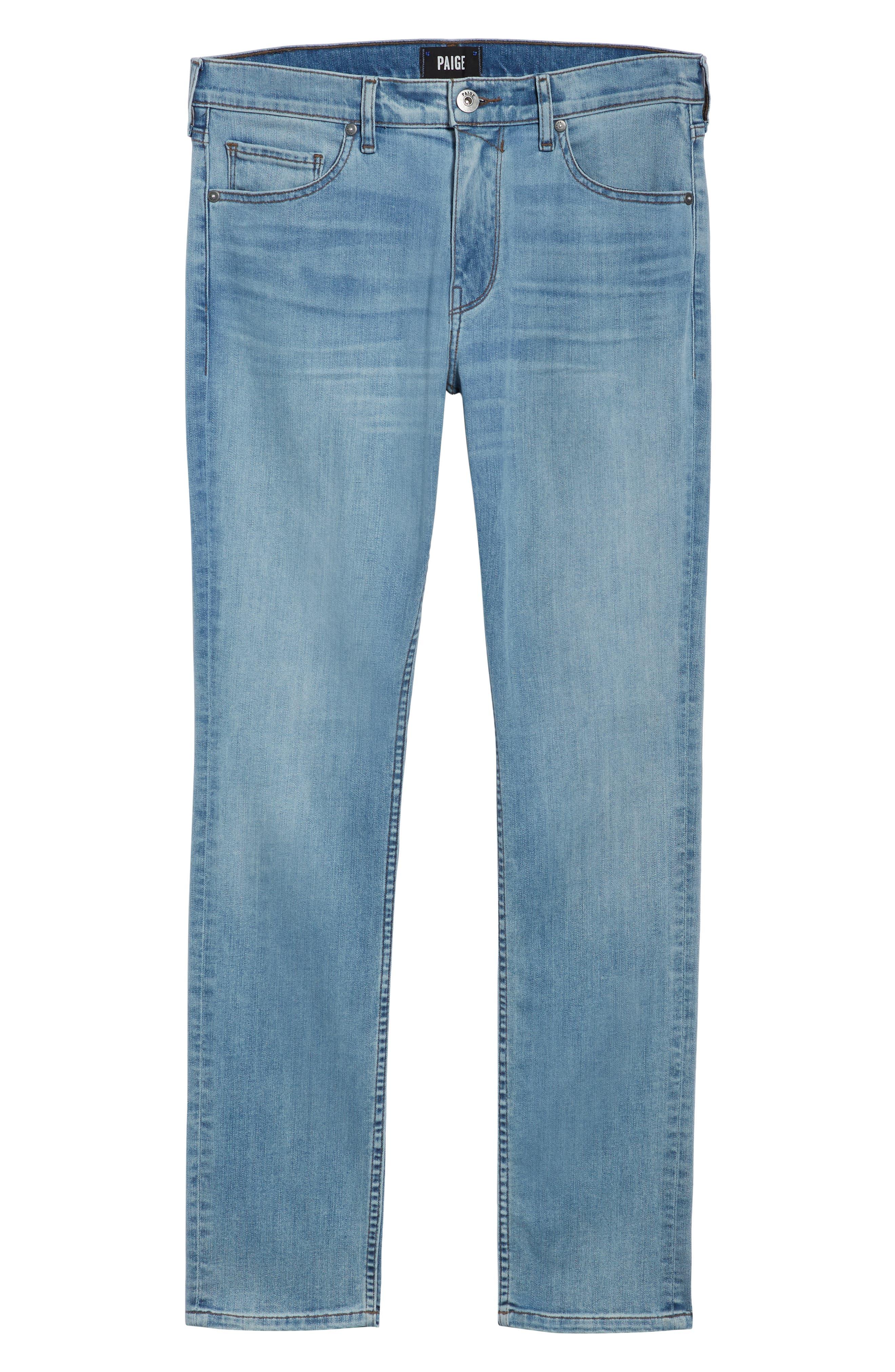 Transcend Vintage - Lennox Slim Fit Jeans,                             Alternate thumbnail 6, color,                             DENVER