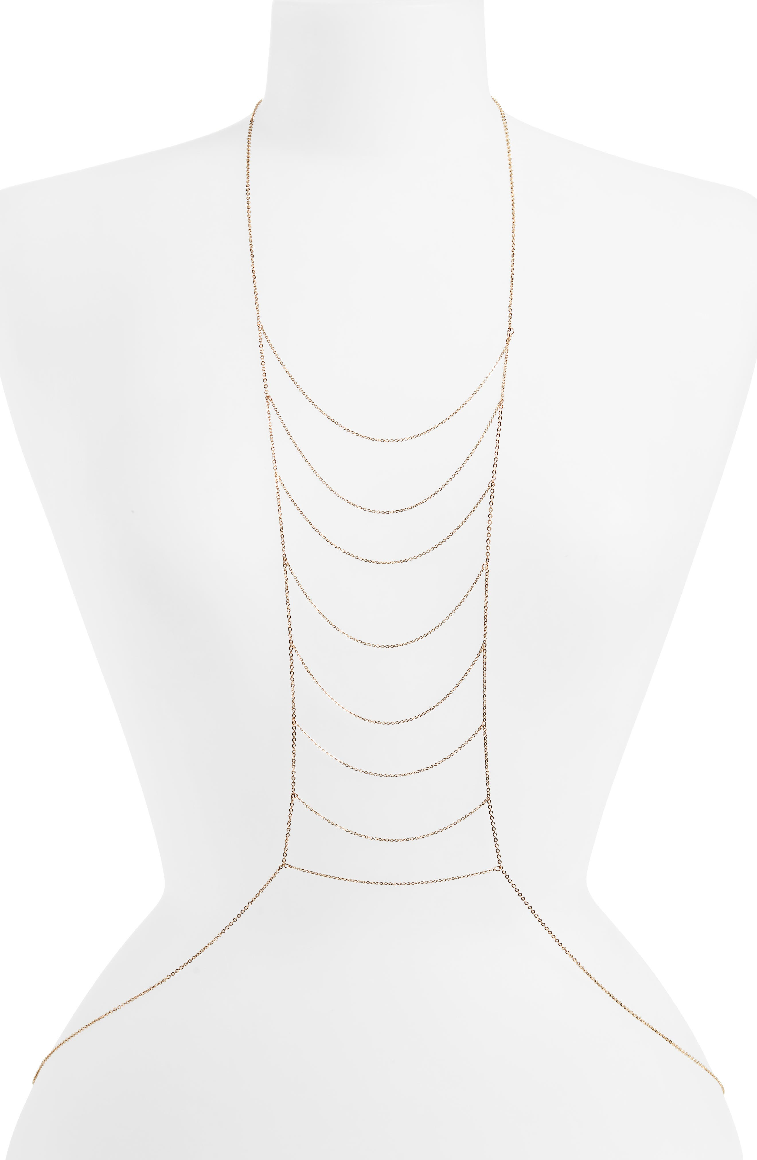 Ladder Bodychain,                         Main,                         color, 710