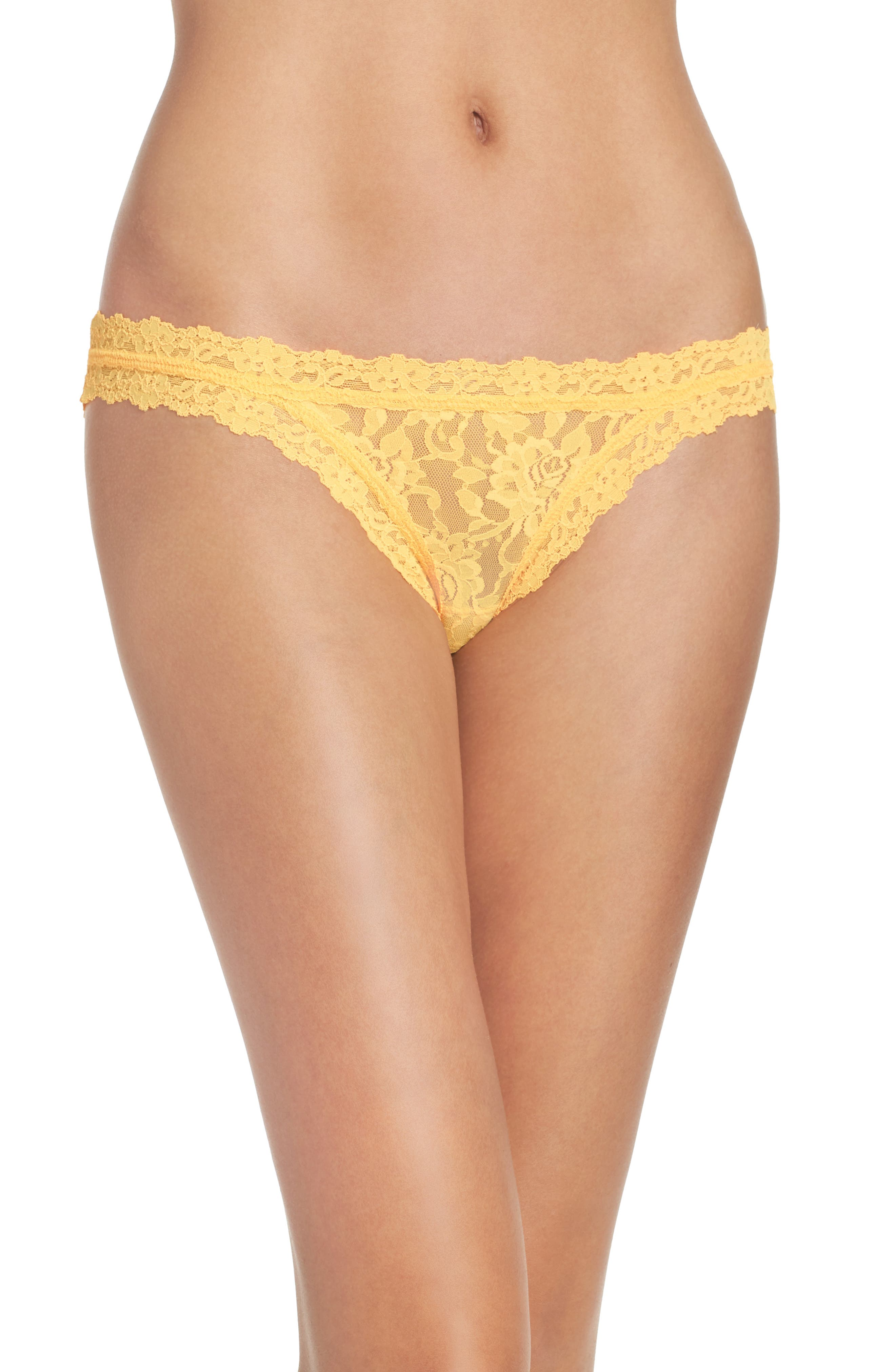 'Signature Lace' Brazilian Bikini,                             Alternate thumbnail 64, color,