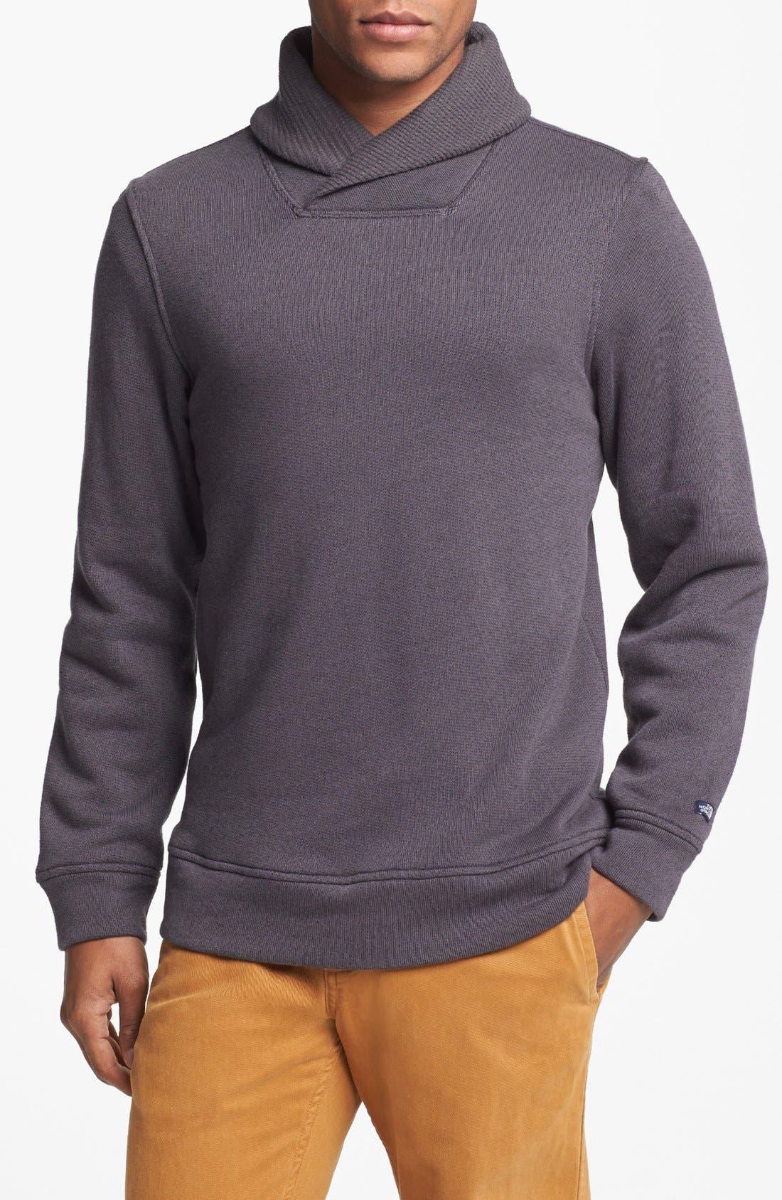 'Ellsworth' Shawl Collar Pullover, Main, color, 020