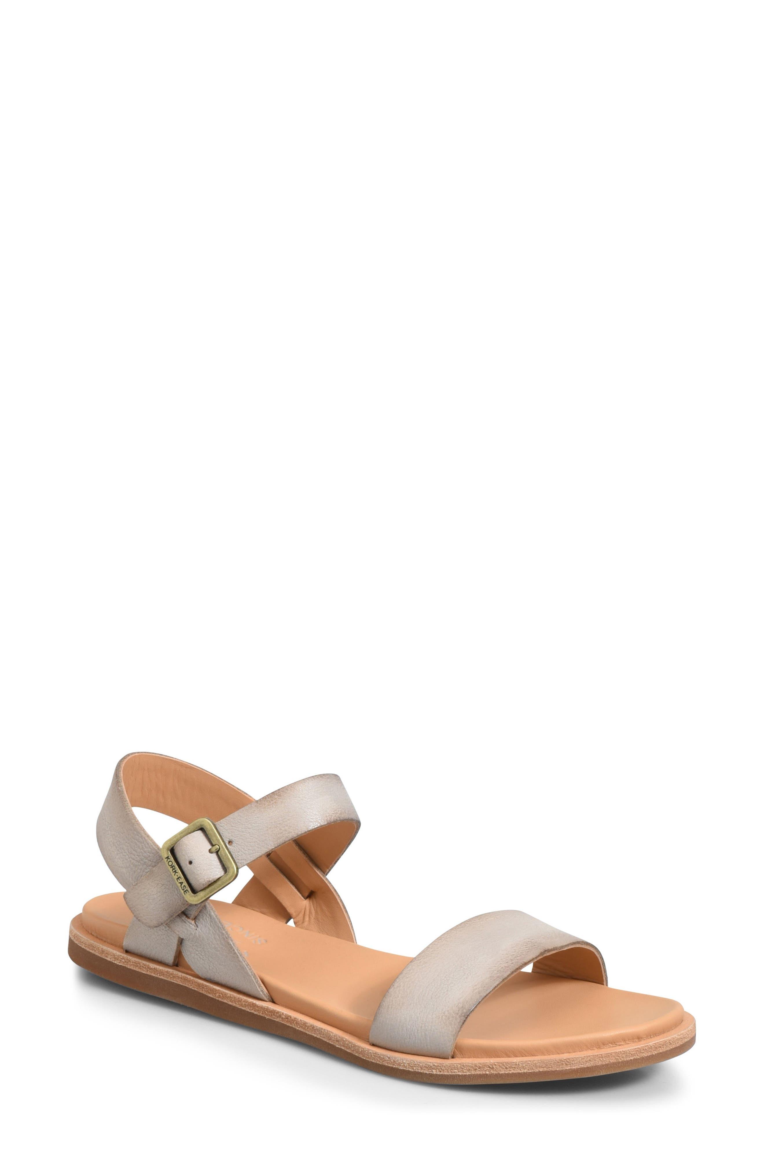 KORK-EASE<SUP>®</SUP> Yucca Sandal, Main, color, GREY LEATHER