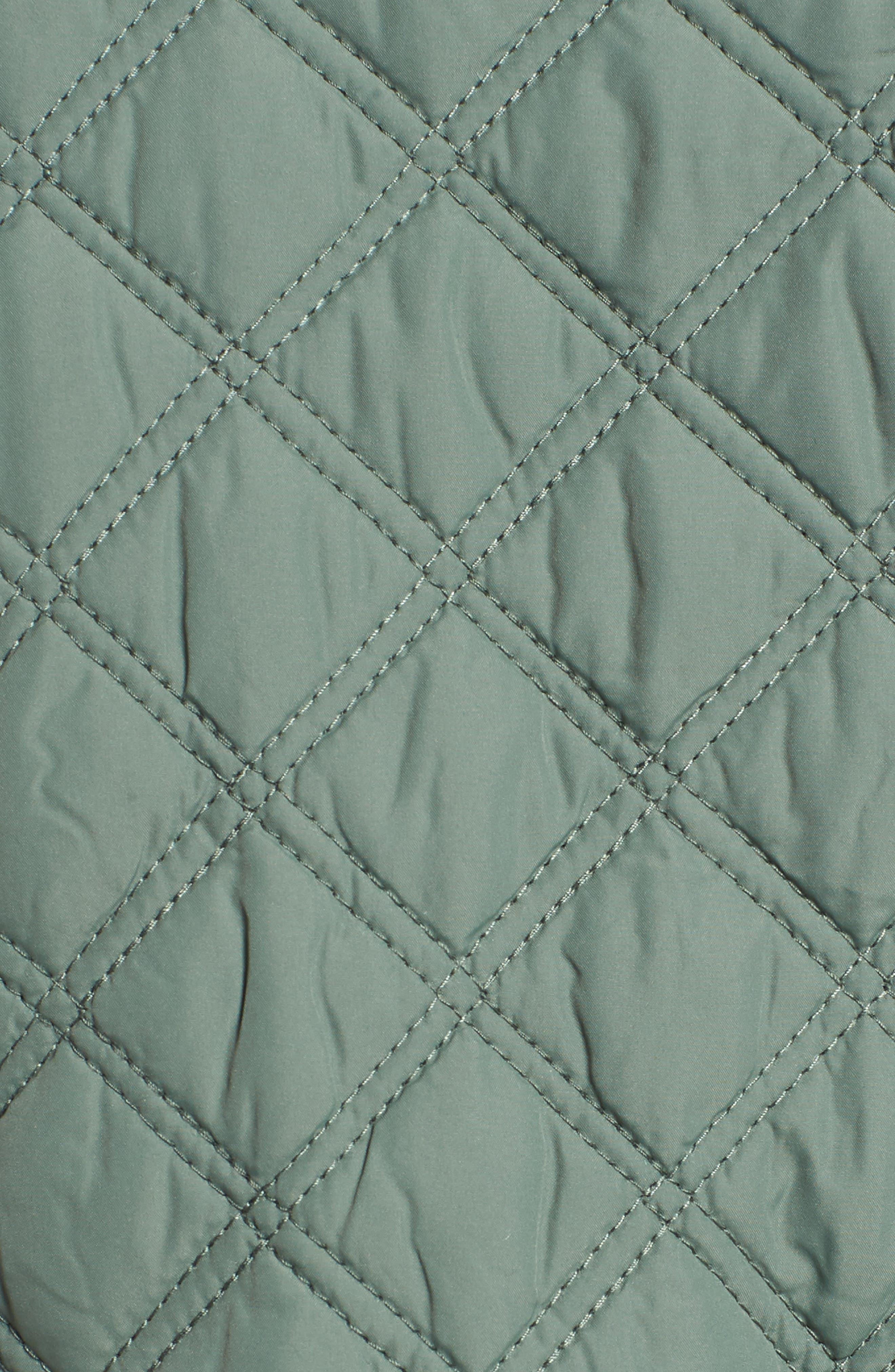 Minx Quilted Vest,                             Alternate thumbnail 7, color,                             LAUREL 2