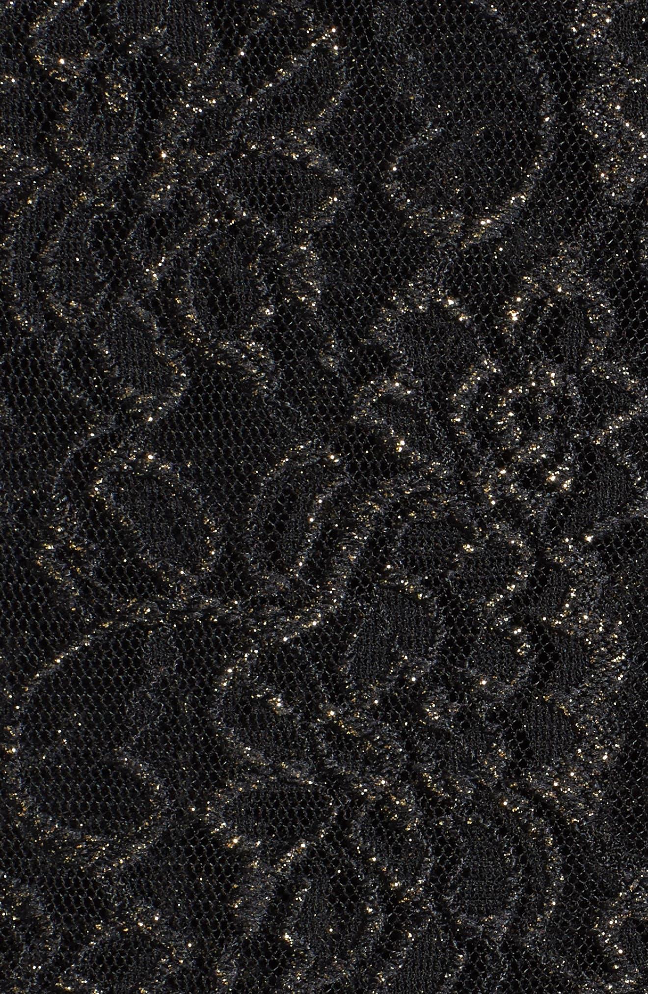 Sequin Lace Twinset,                             Alternate thumbnail 5, color,                             003